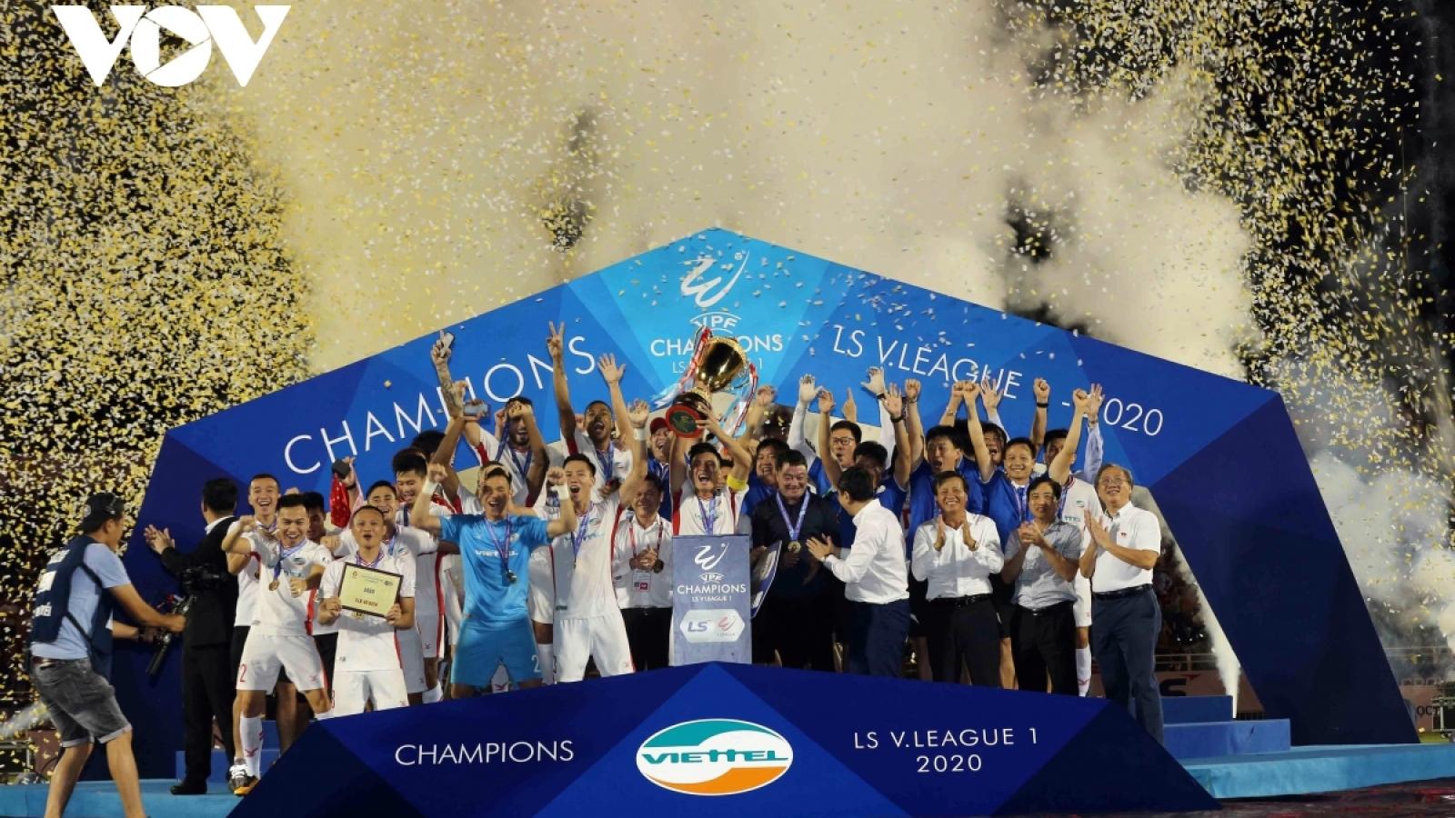 """Tiền thưởng """"siêu khủng"""" chờ đón Viettel ở AFC Champions League 2021"""