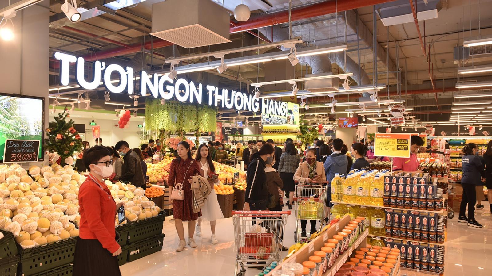 Vinmart khai trương siêu thị phiên bản hoàn toàn mới tại đại đô thị  Vinhomes Ocean Park