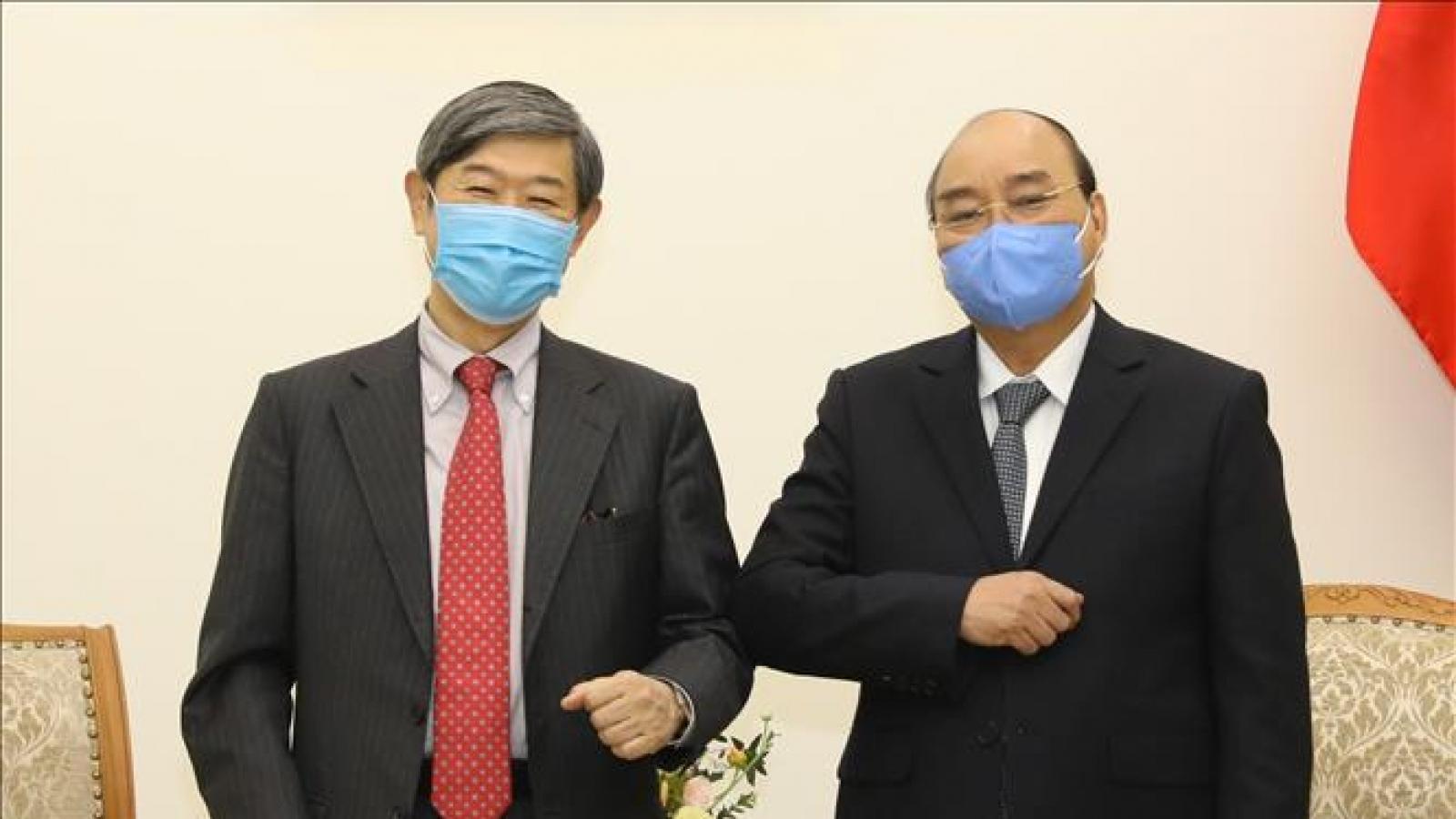 Thủ tướng: Việt Nam sẵn sàng đón dòng vốn đầu tư Nhật Bản