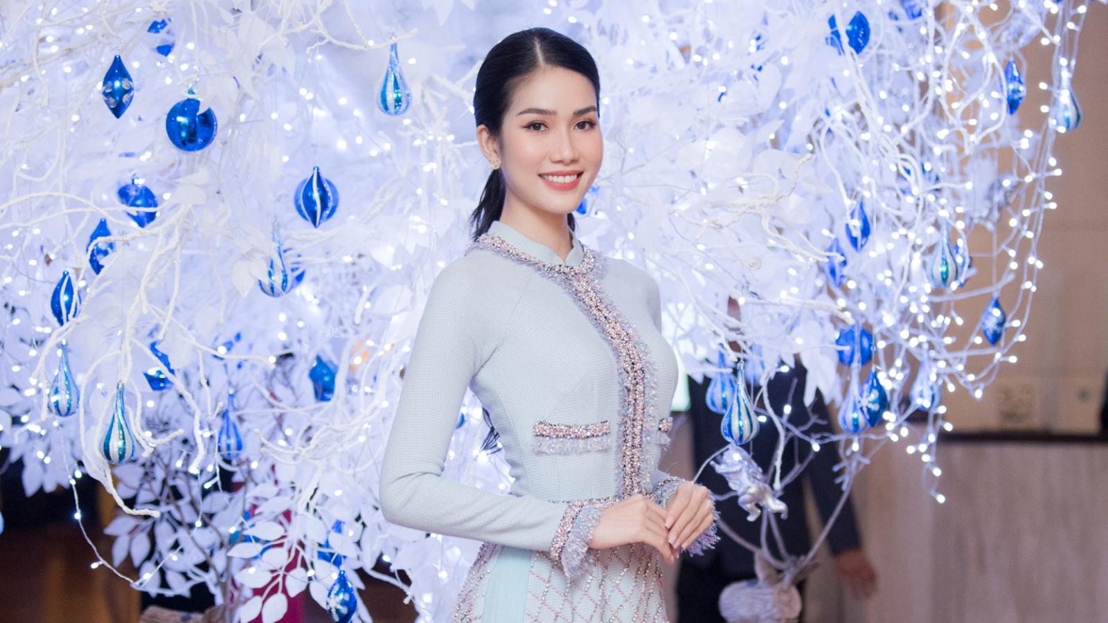 """Á hậu Phương Anh: """"Tôi rất có thiện cảm với Hoa hậu Đỗ Thị Hà"""""""