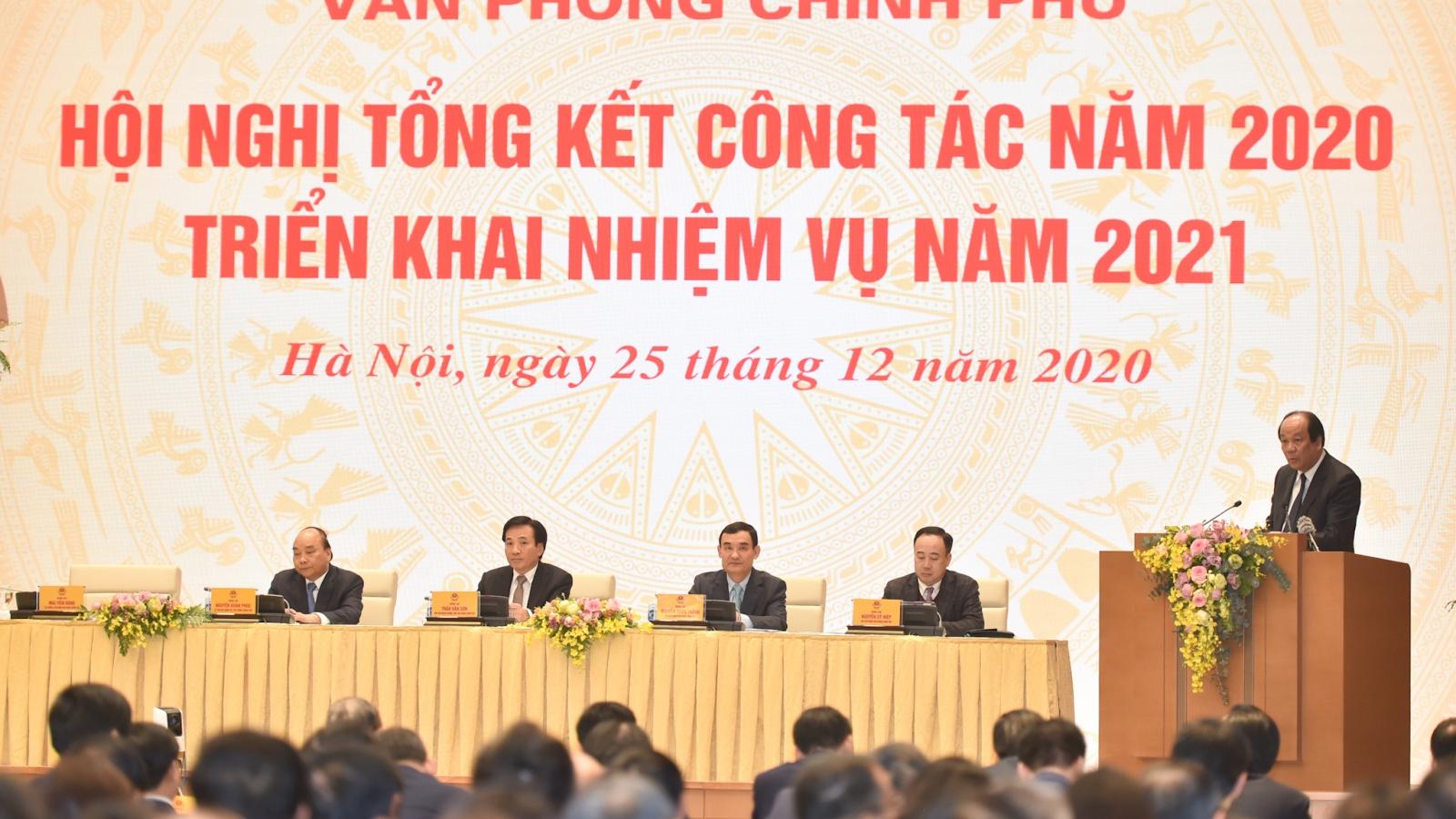 Thủ tướng: Văn phòng Chính phủ phải là cơ quan hành chính kiểu mẫu