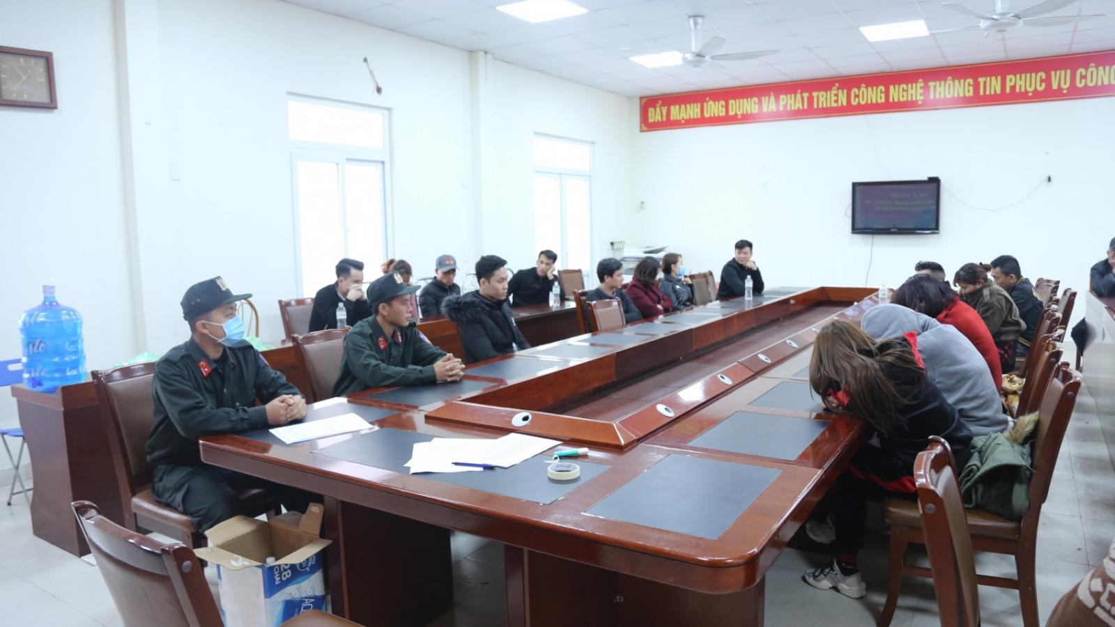 Nhiều người có dấu hiệu sử dụng ma túy tại vũ trường lớn nhất Quảng Ninh