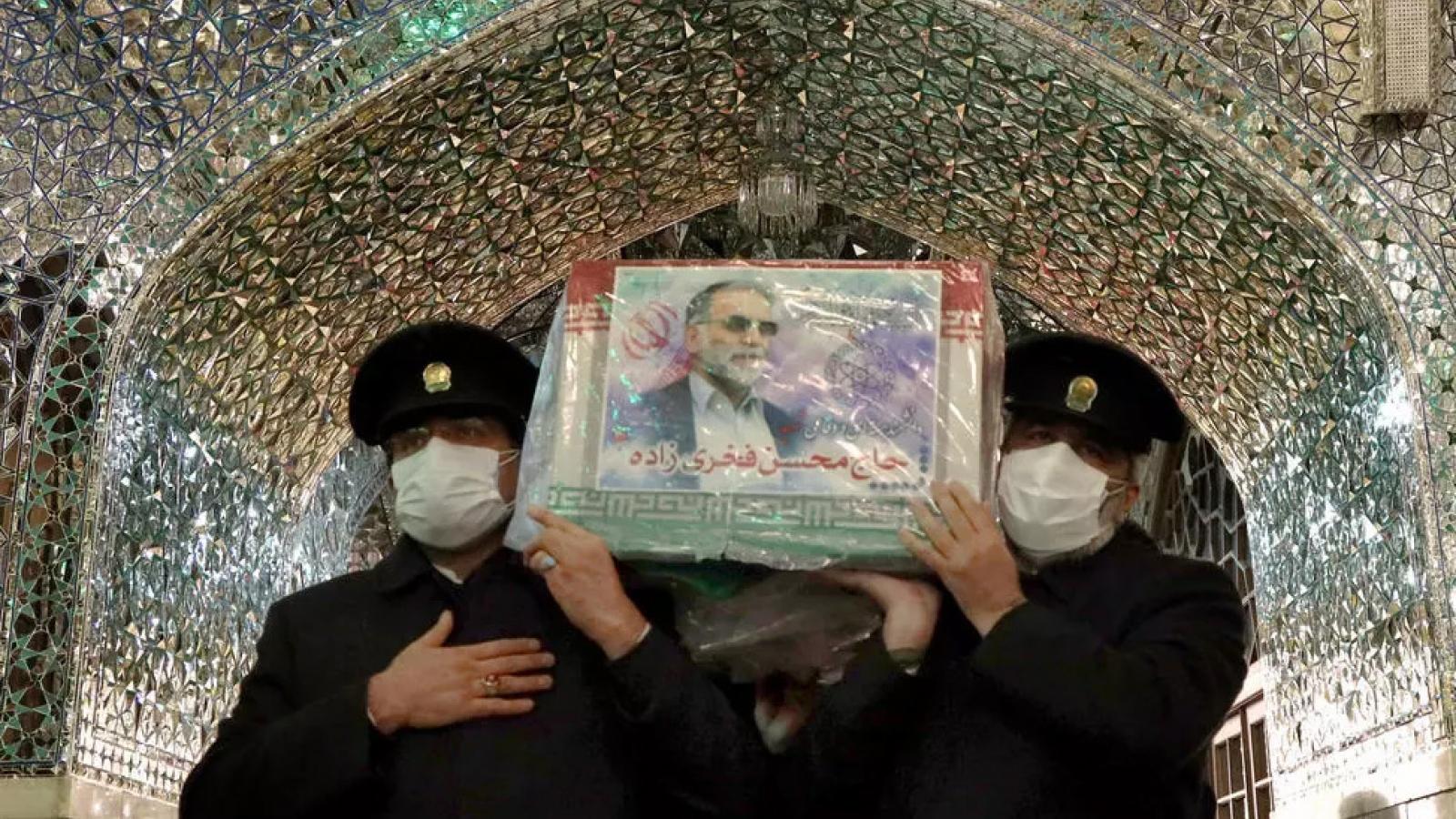 Nhà khoa học hạt nhân Iran bị ám sát bằng súng máy được điều khiển qua vệ tinh