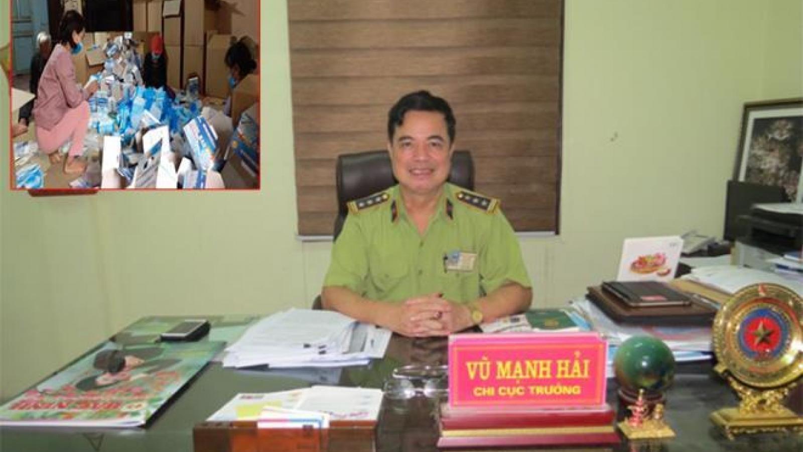 Quyền Cục trưởng Cục quản lý thị trường Bắc Ninh bị kỷ luật