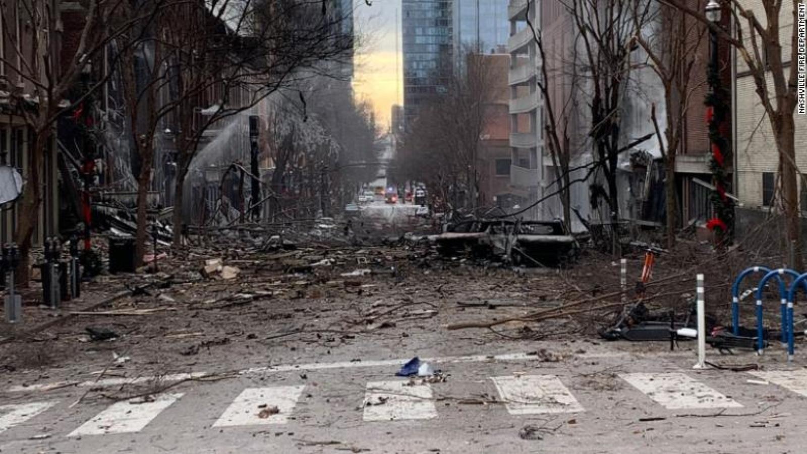 Vụ nổ ở Nashille bị nghi là đánh bom tự sát