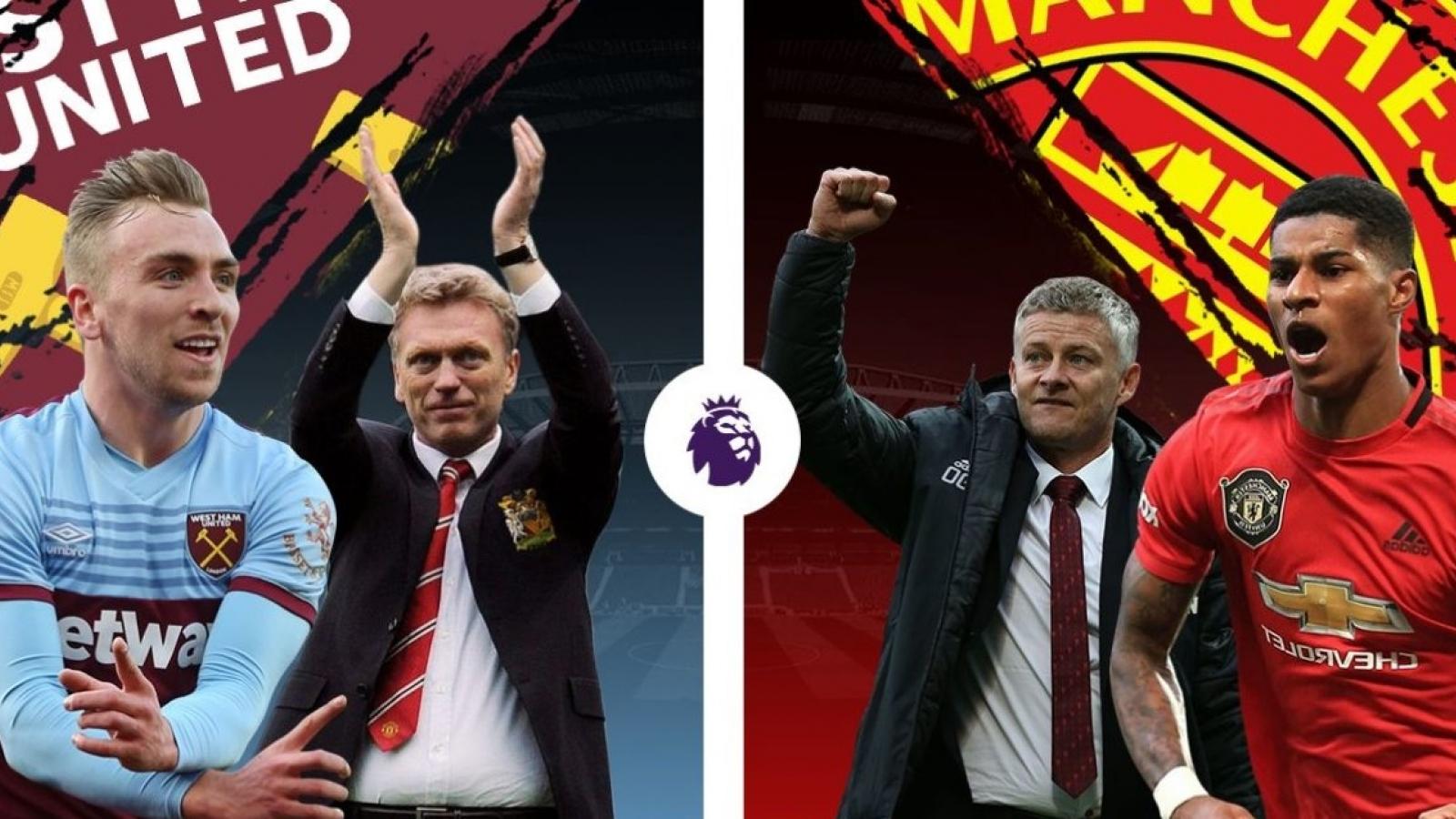 West Ham – MU: Quyết chiến vì top 4 Premier League