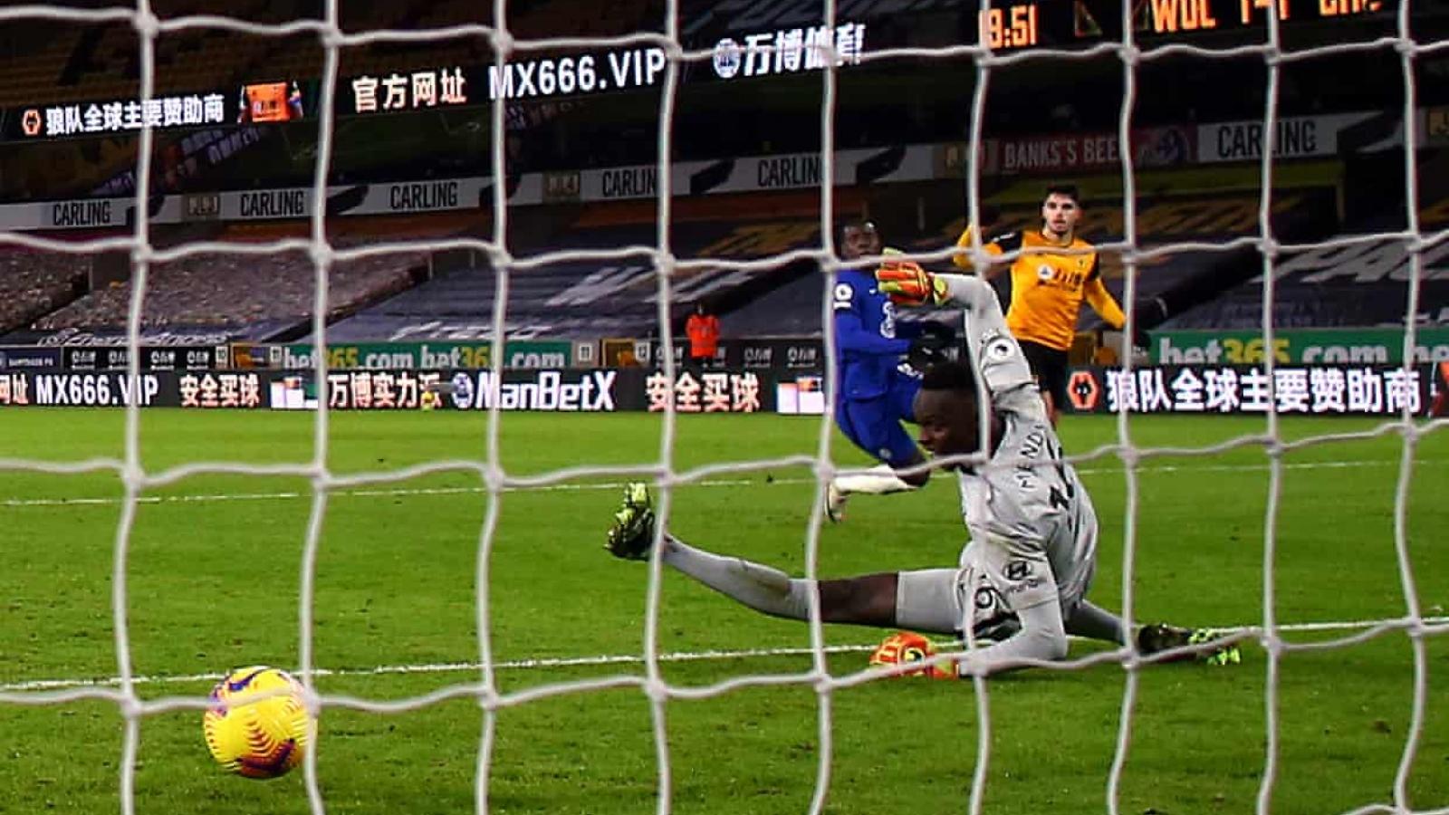 Thủng lưới phút 90+5, Chelsea thua ngược Wolves