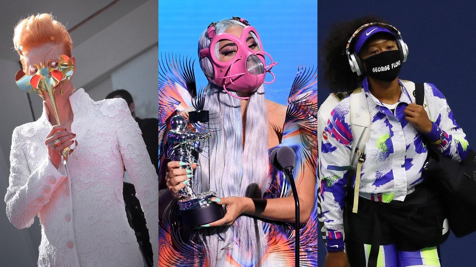 Khẩu trang trở thành biểu tượng thời trang mới trong năm 2020