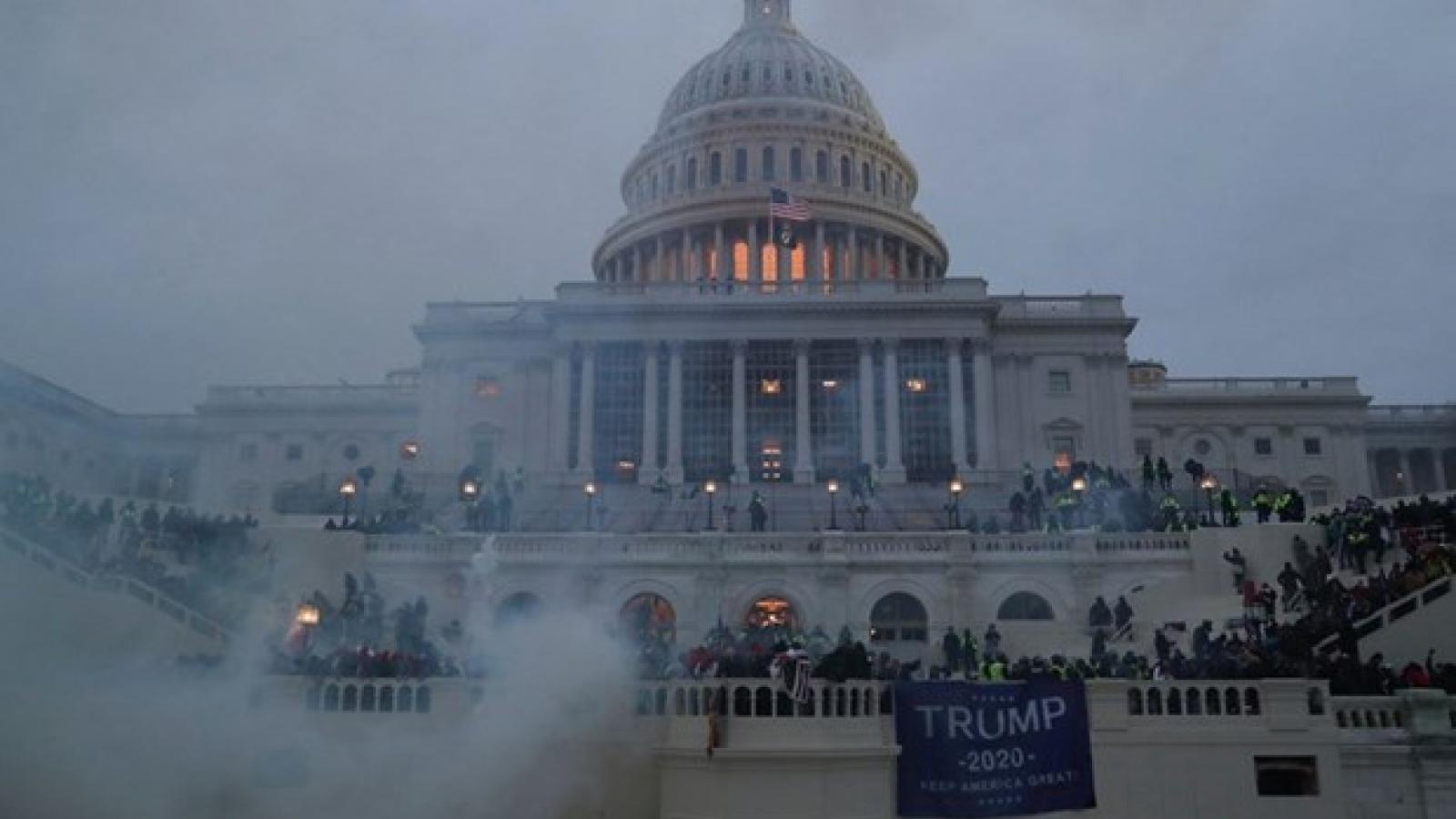 Mỹ trang bị vũ khí sát thương cho vệ binh quốc gia bảo vệ tòa nhà Quốc hội