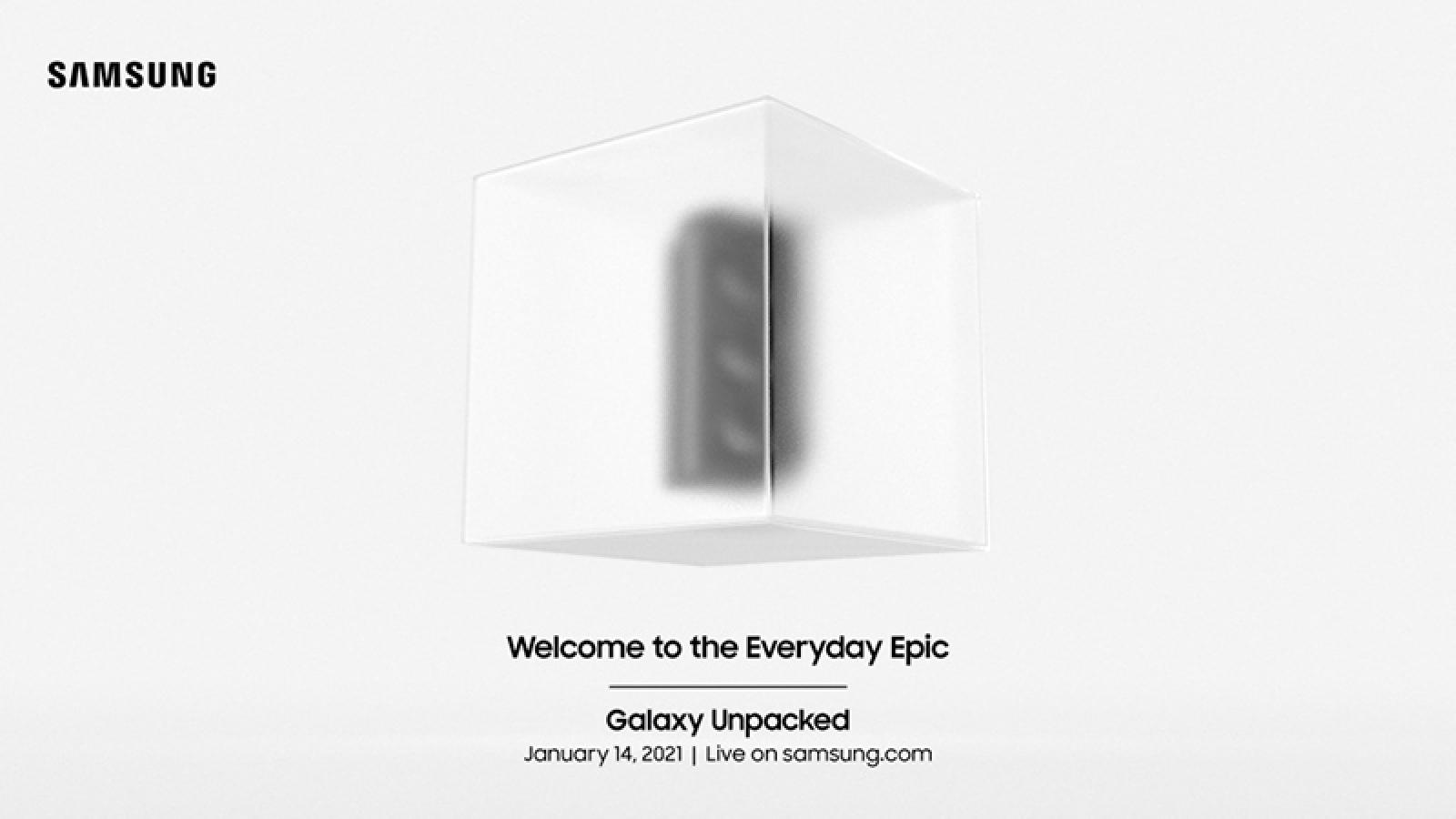 Samsung chốt ngày tổ chức sự kiện ra mắt Galaxy S21