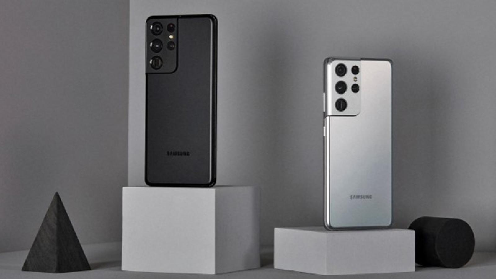 Samsung trình làng loạt Galaxy S21 thách thức iPhone 12