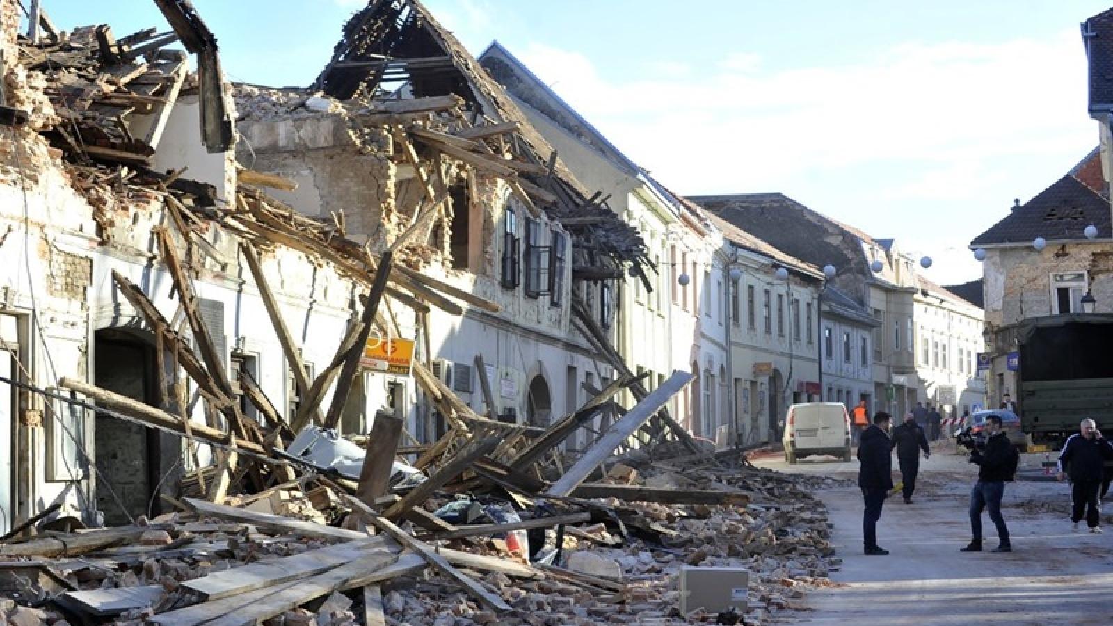 Croatia tổ chức quốc tang cho các nạn nhân thiệt mạng trong trận động đất