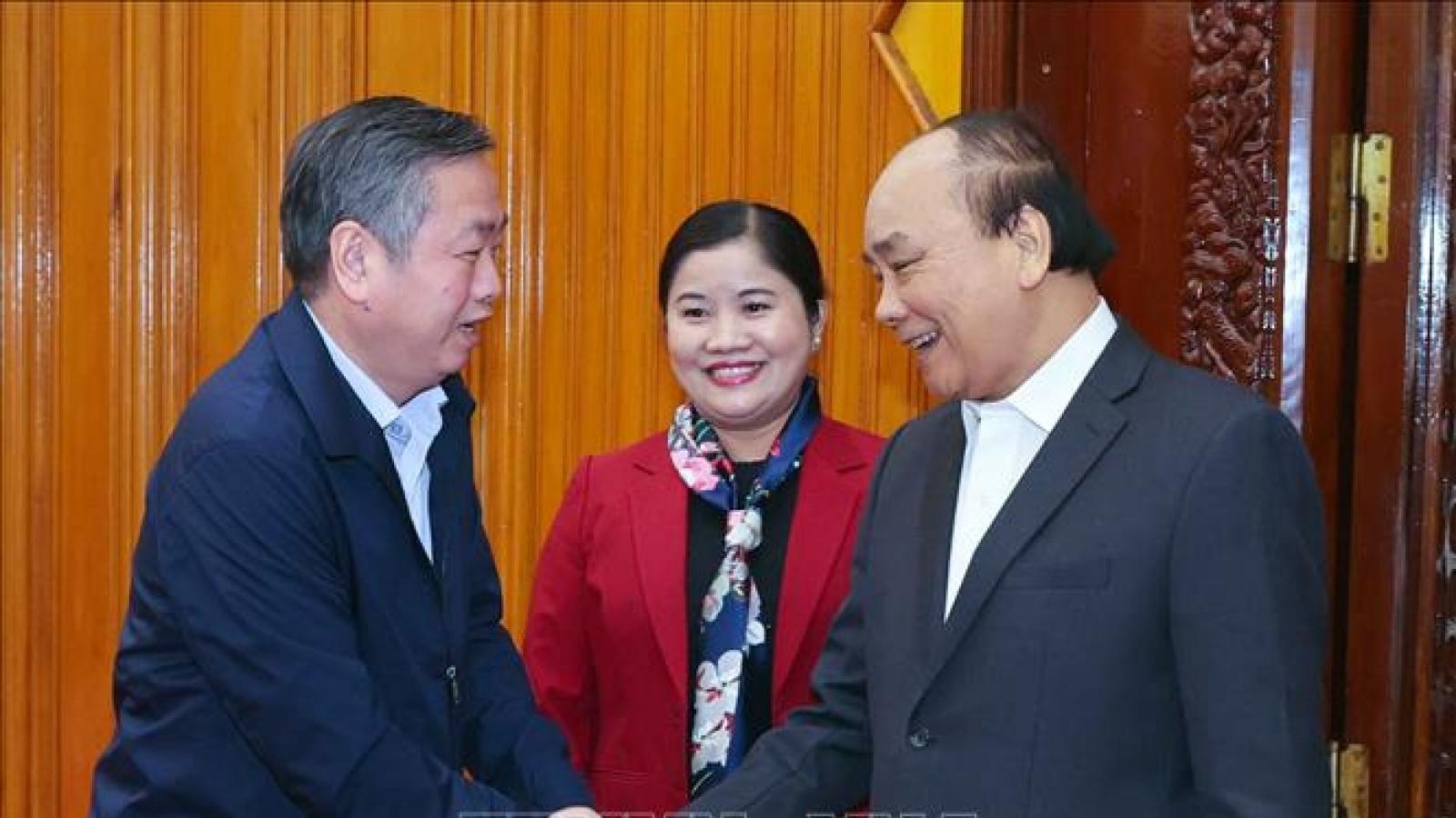 Thủ tướng làm việc với lãnh đạo chủ chốt tỉnh Bình Phước