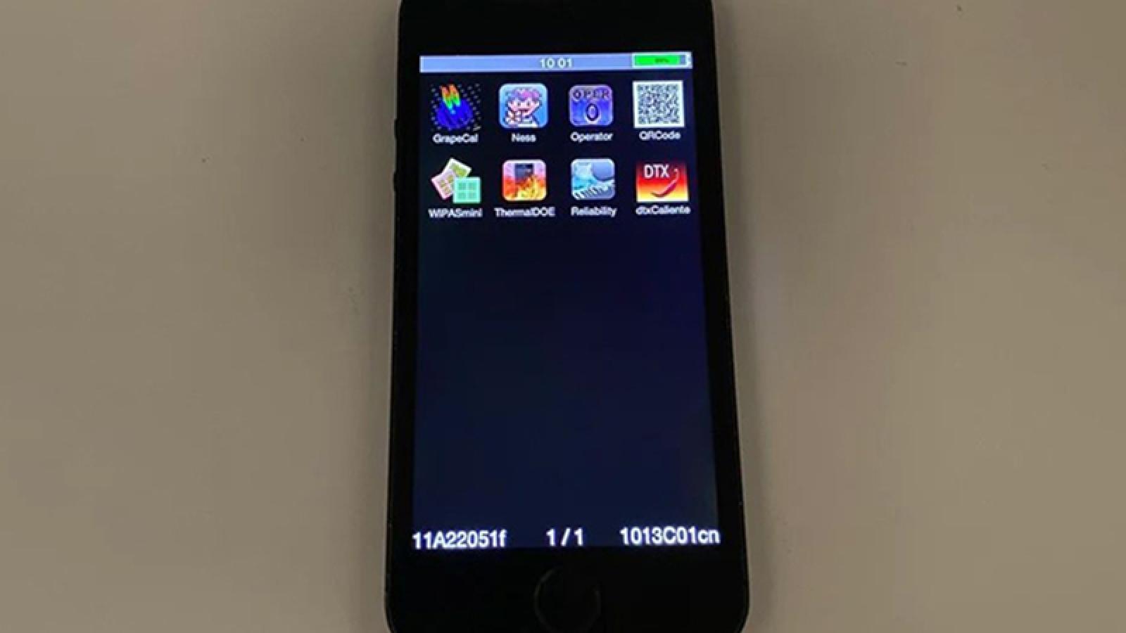 Xuất hiện hình ảnh iPhone 5S hiếm có chưa từng ra mắt