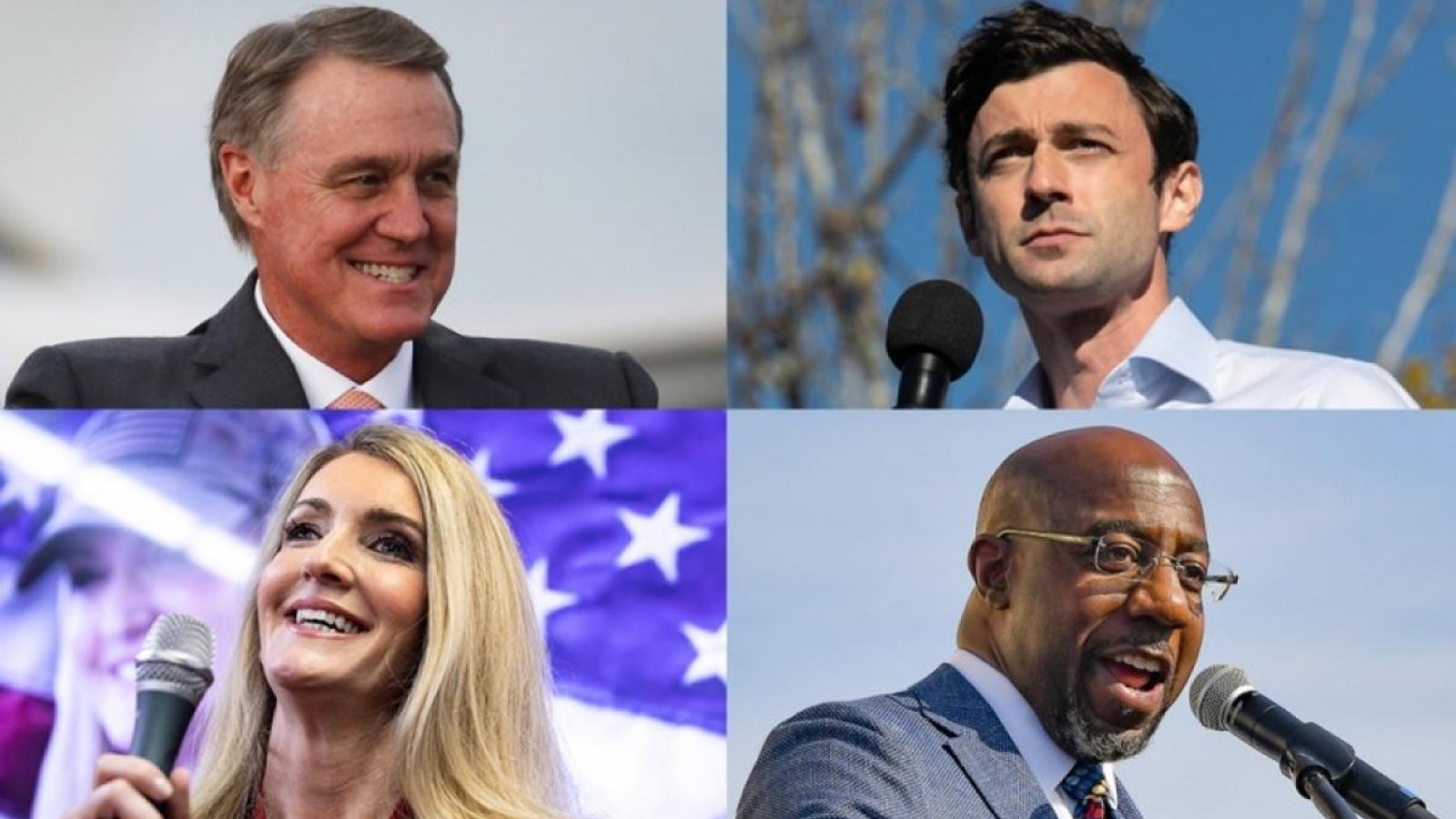 """5 điều đáng chú ý trong cuộc bầu cử Thượng viện """"gay cấn""""  tại Georgia"""