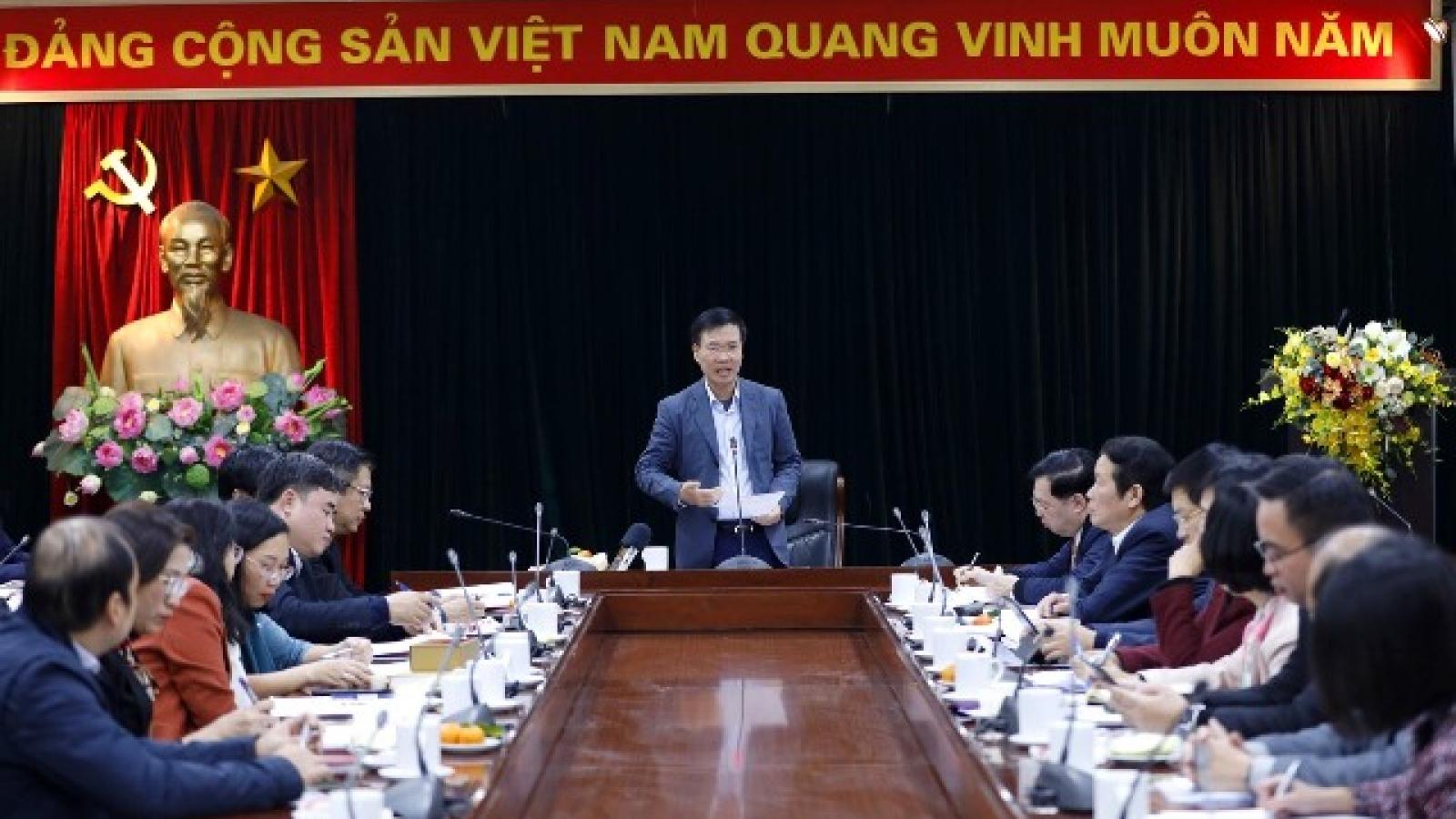 Hơn 500 phóng viên trong và ngoài nước  đăng ký đưa tin về Đại hội XIII của Đảng