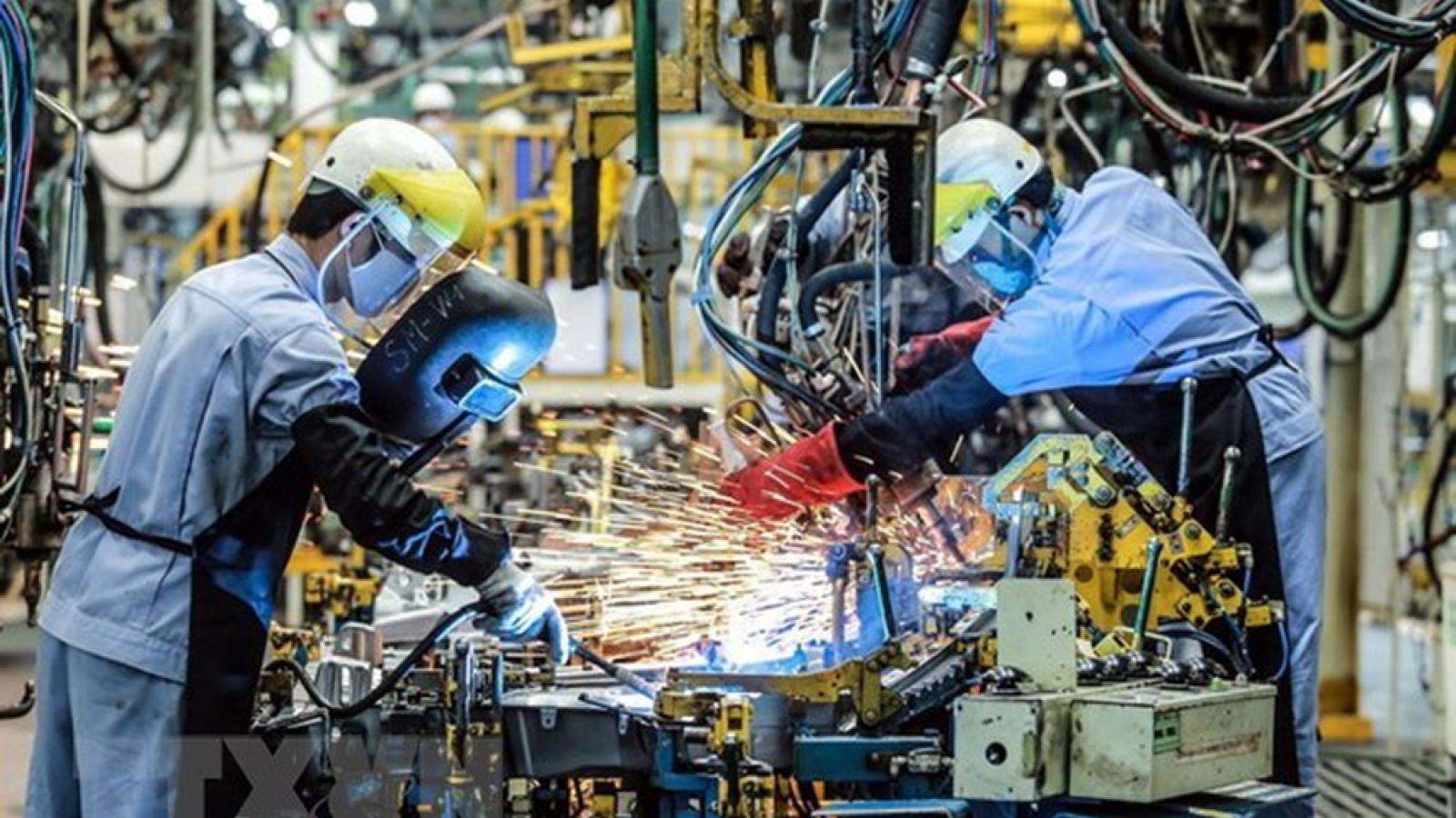 Ngành Công nghiệp có tốc độ tăng trưởng cao nhất trong giai đoạn 2011-2020