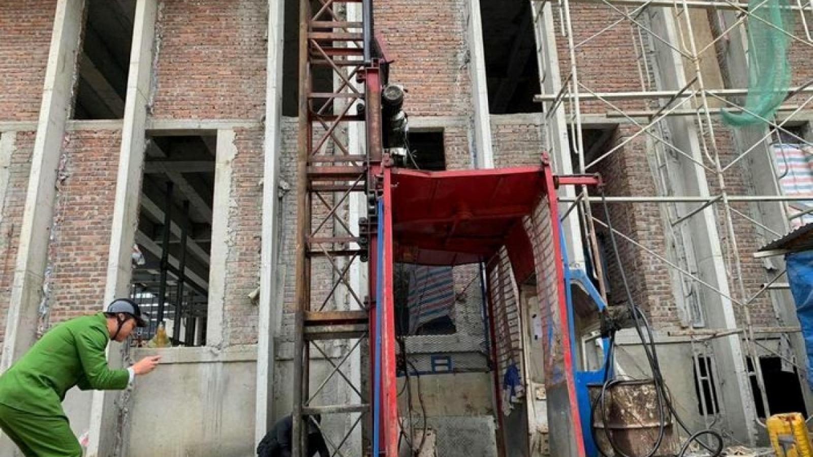 Cơ quan chức năng lên tiếng về vụ tai nạn lao động tại Nghệ An