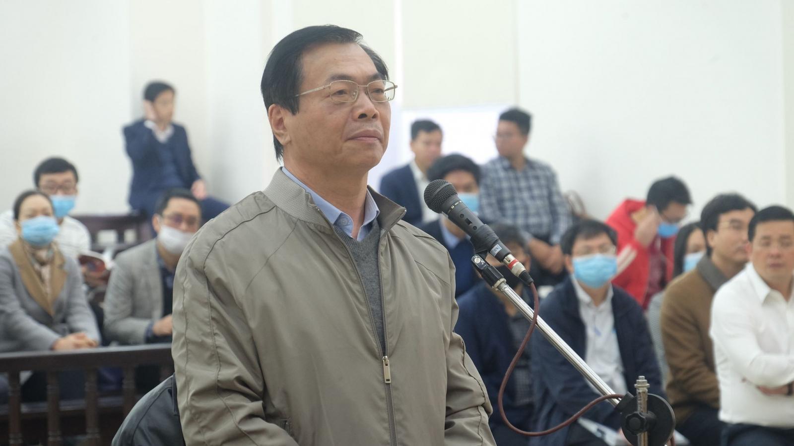 Ngày 18/1 mở lại phiên tòa xử cựu Bộ trưởng Vũ Huy Hoàng