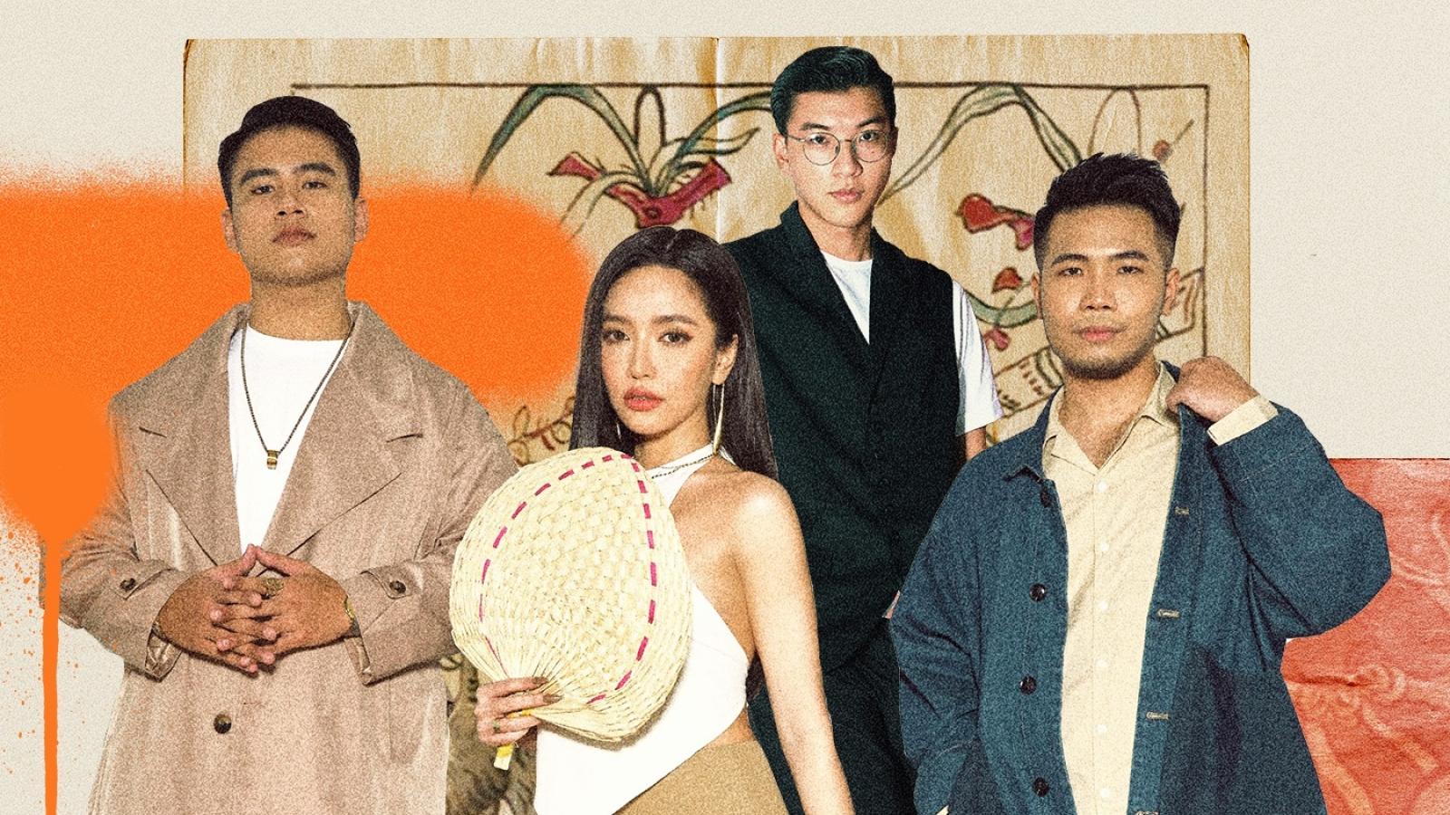 Phúc Du, GDucky, HIEUTHUHAI góp giọng cùng Bích Phương trong bản hit 'Diệu kỳ Việt Nam'