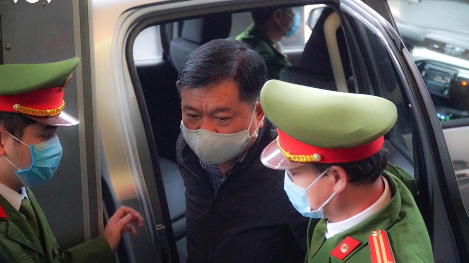 Bị cáo Đinh La Thăng, Trịnh Xuân Thanh và đồng phạm hầu tòa tại Hà Nội