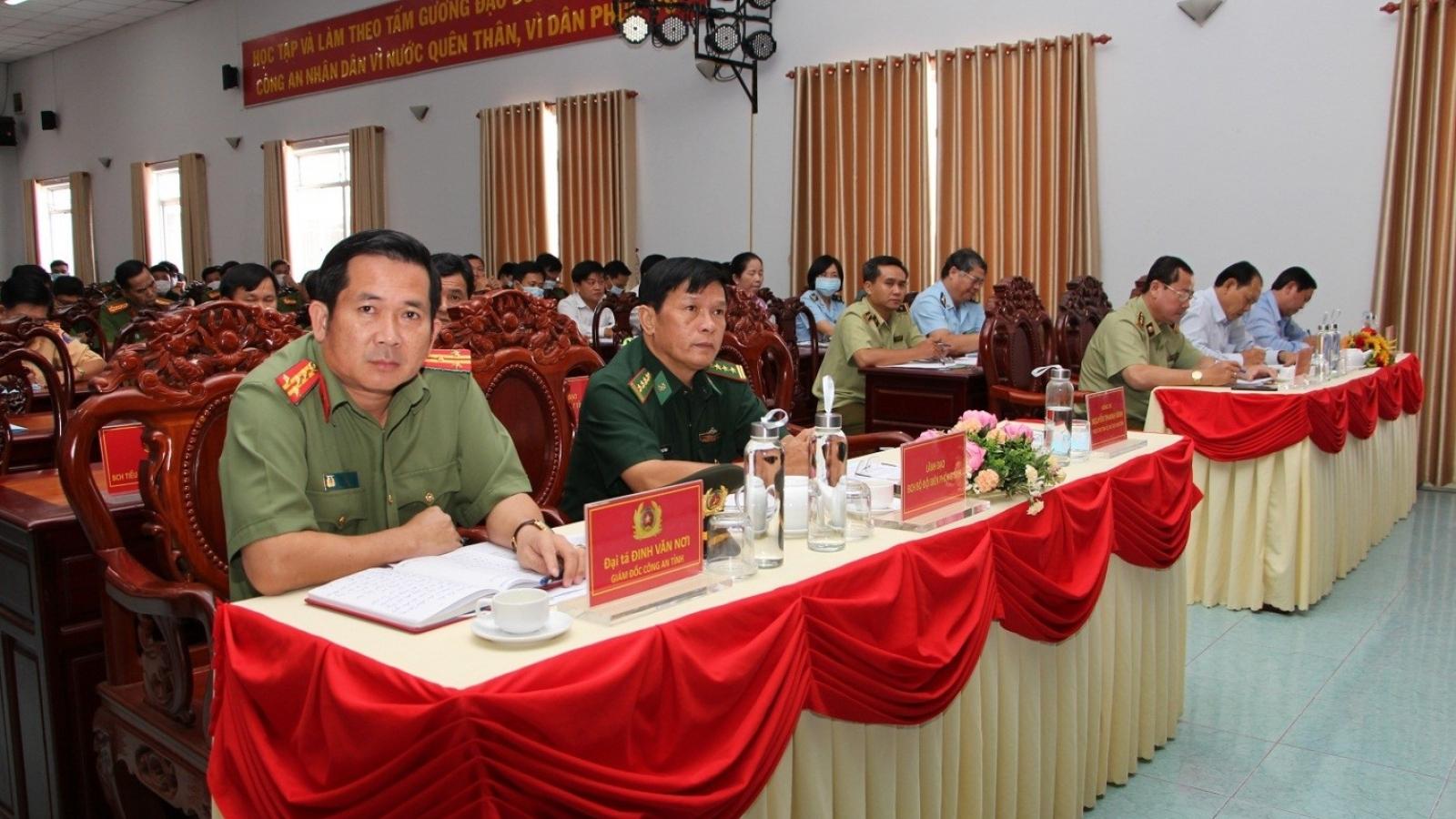 Công an tỉnh An Giang quyết liệt đấu tranh phòng chống hàng lậu, hàng giả