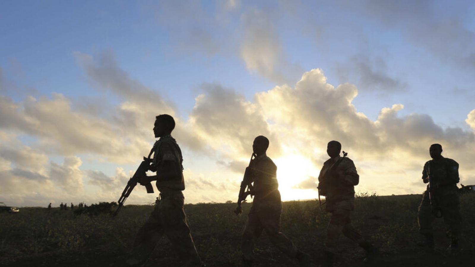 Mỹ rút phần lớn lực lượng ra khỏi Somalia