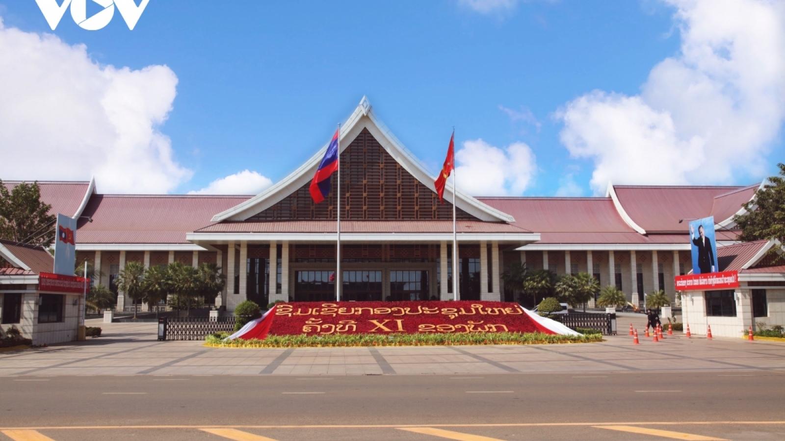 Điện mừng Đại hội đại biểu toàn quốc lần thứ XI Đảng Nhân dân Cách mạng Lào