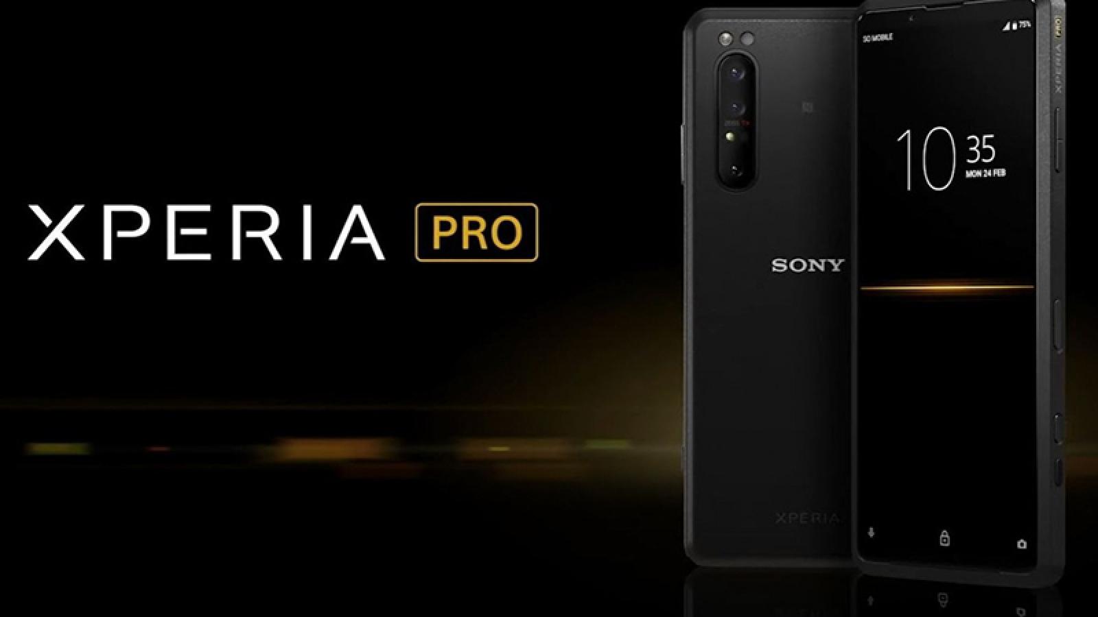 Sony Xperia Pro chính thức lên kệ với giá cao ngất ngưởng