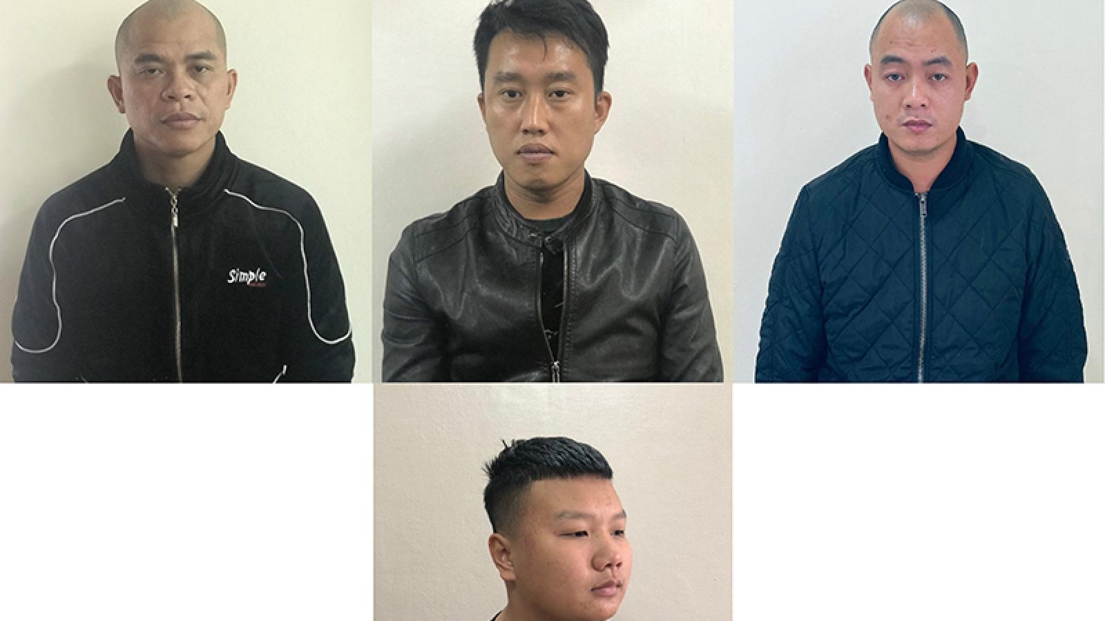 Cưỡng đoạt tài sản của tiểu thương, 4 đối tượng bị bắt giữ