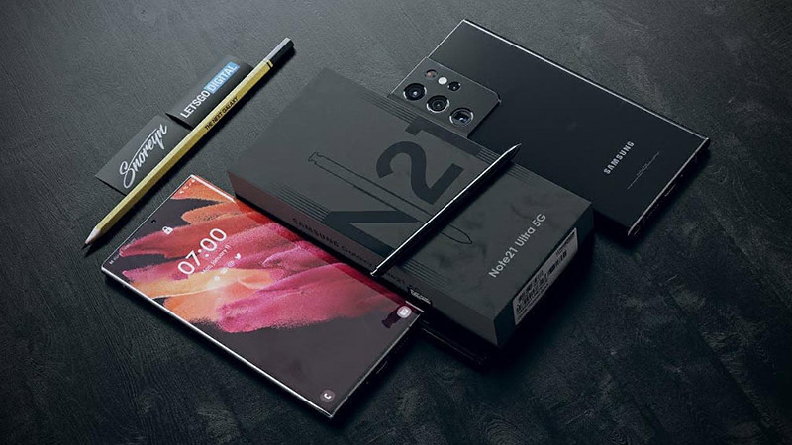 Đây chính là Galaxy Note21 Ultra ra mắt vào nửa năm sau?