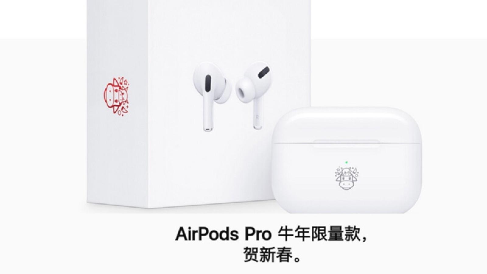 AirPods Pro bản đặc biệt chào Xuân Kỷ Sửu ra mắt