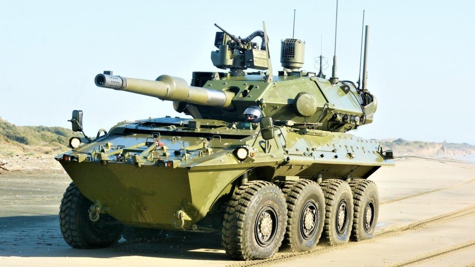 Quân đội Italia chuyển sang xe tăng bánh lốp