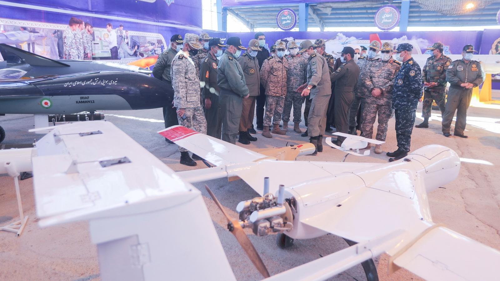 Iran tập trận quy mô lớn với nhiều máy bay không người lái