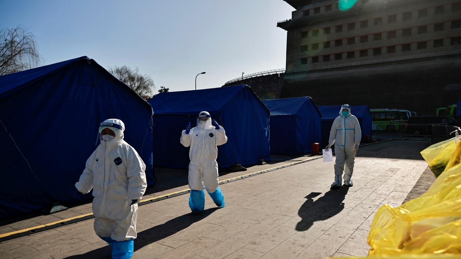 Trung Quốc siết chặt quản lý người vào thủ đô Bắc Kinh để kiểm soát Covid-19
