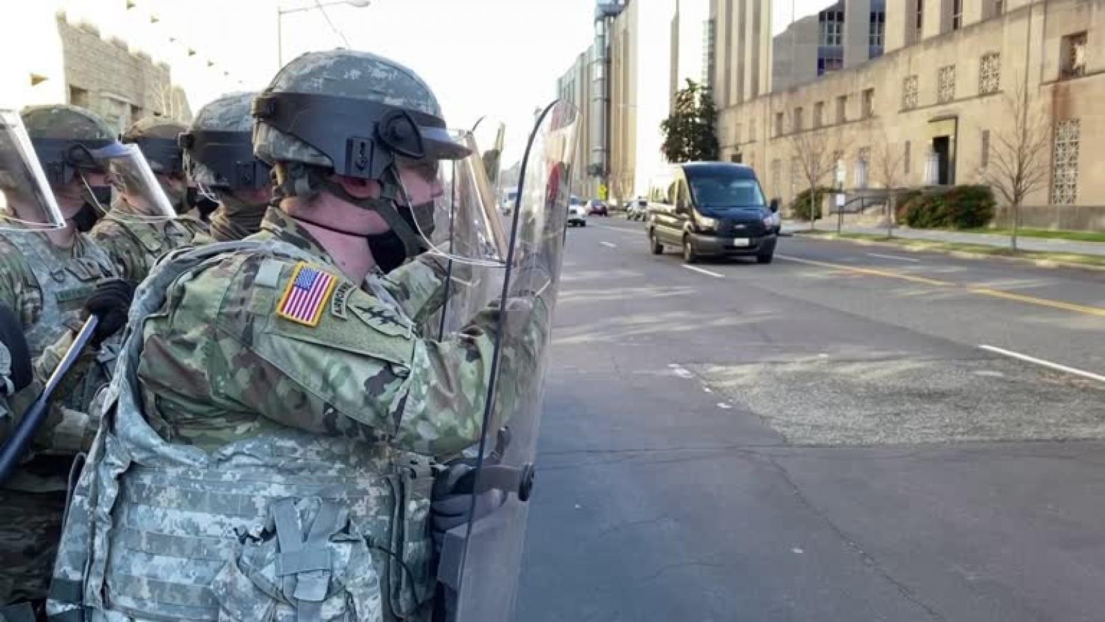 12 thành viên Vệ binh Quốc gia bị loại khỏilễ nhậm chức của tổng thống Mỹ