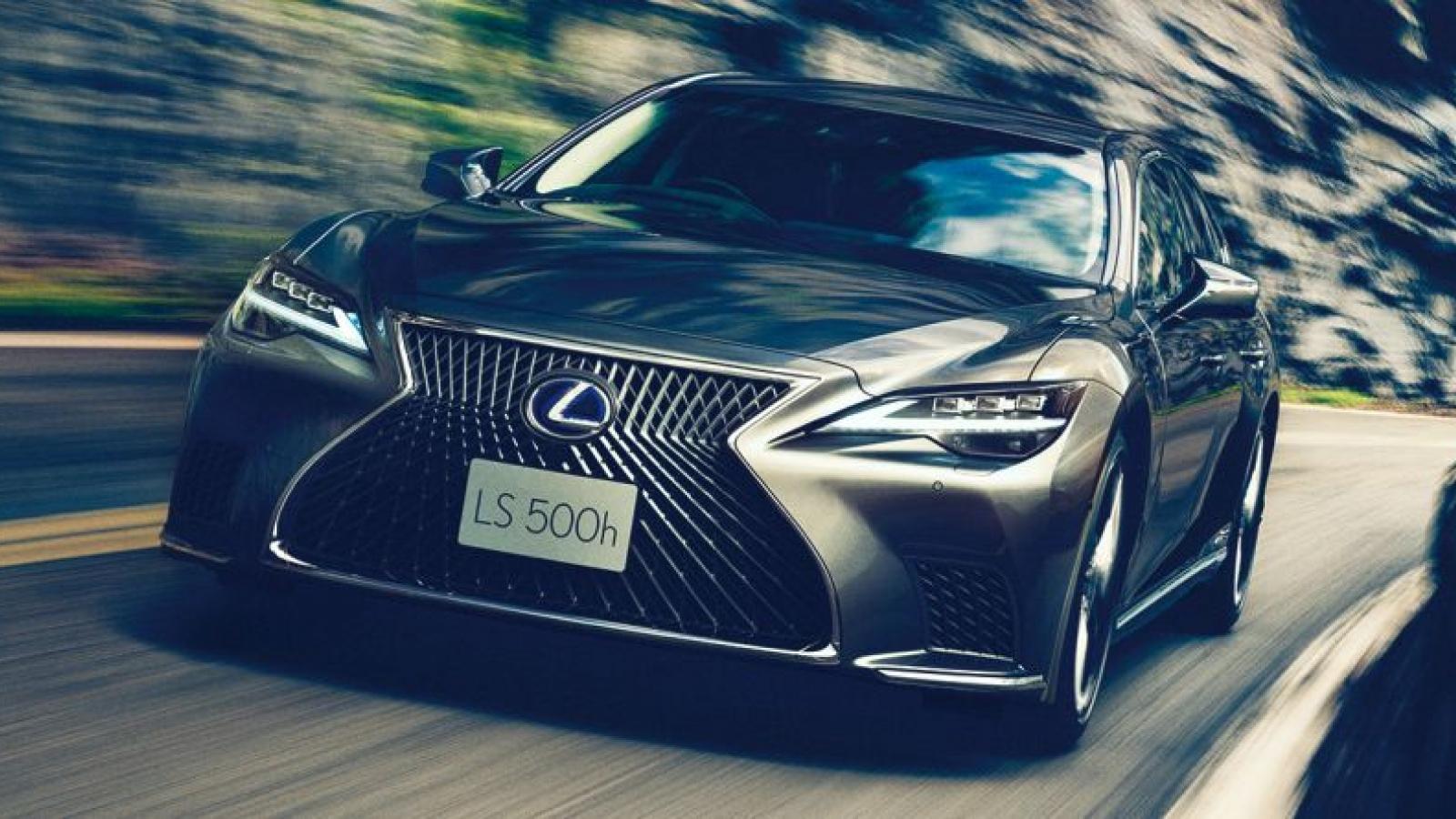 Lexus LS 500 2021 bản nâng cấp chính thức ra mắt