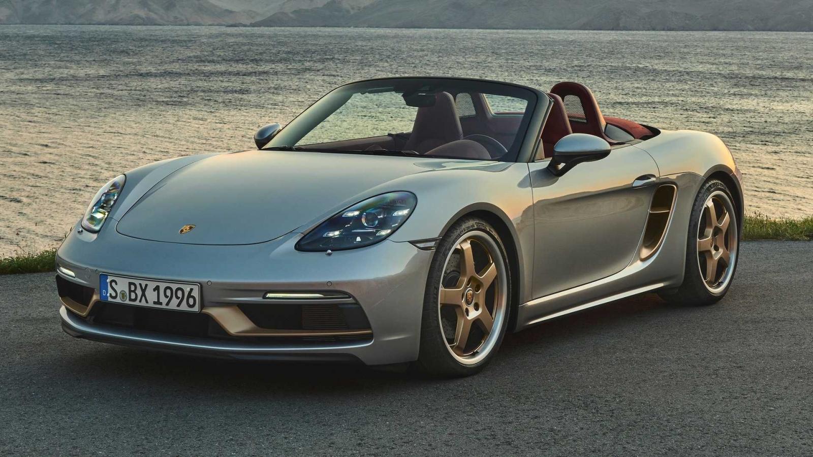 Porsche ra mắt bản kỷ niệm đặc biệt của Boxster