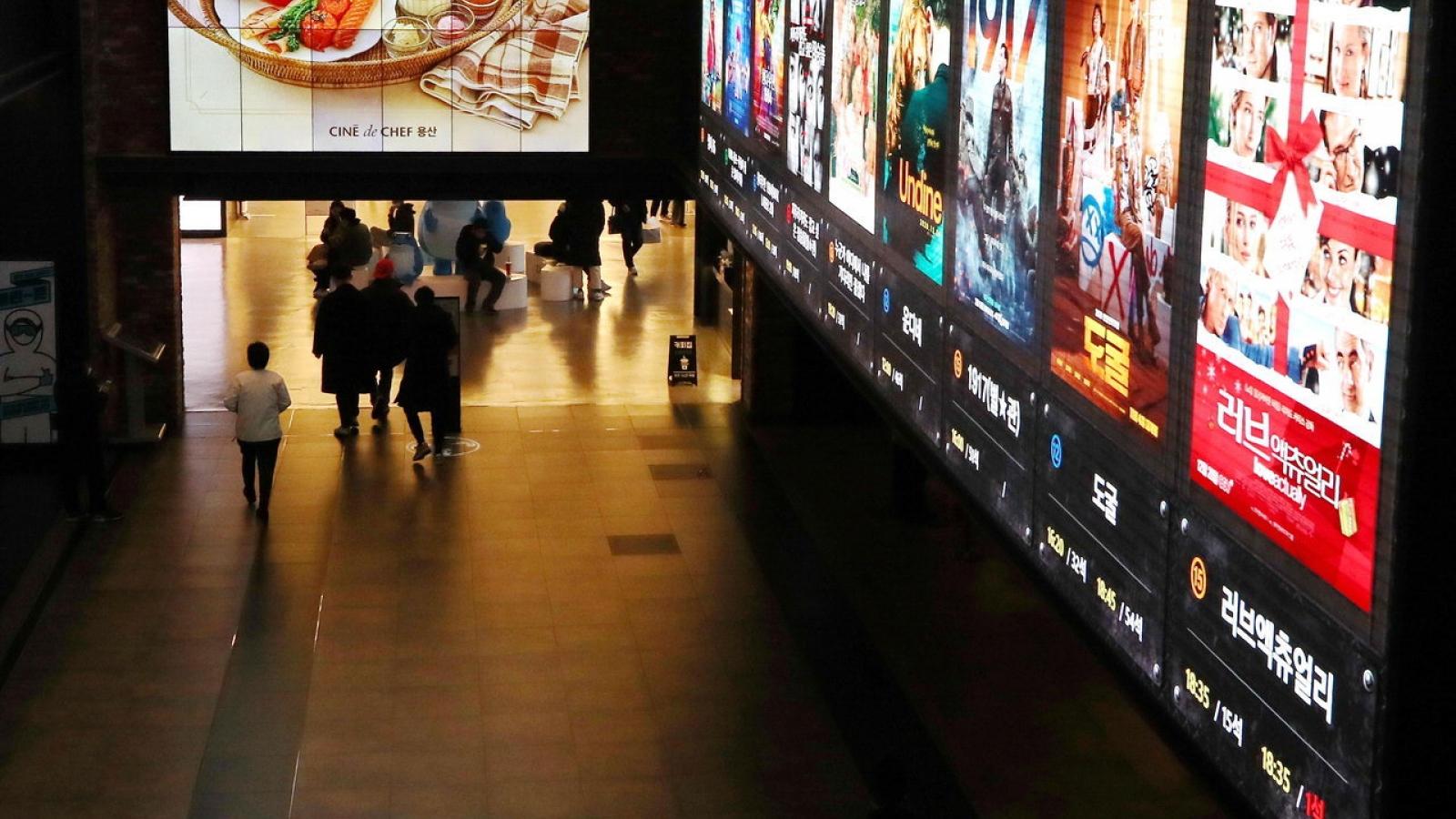 Rạp chiếu phim đóng cửa hàng loạt ở Hàn Quốcvì Covid-19