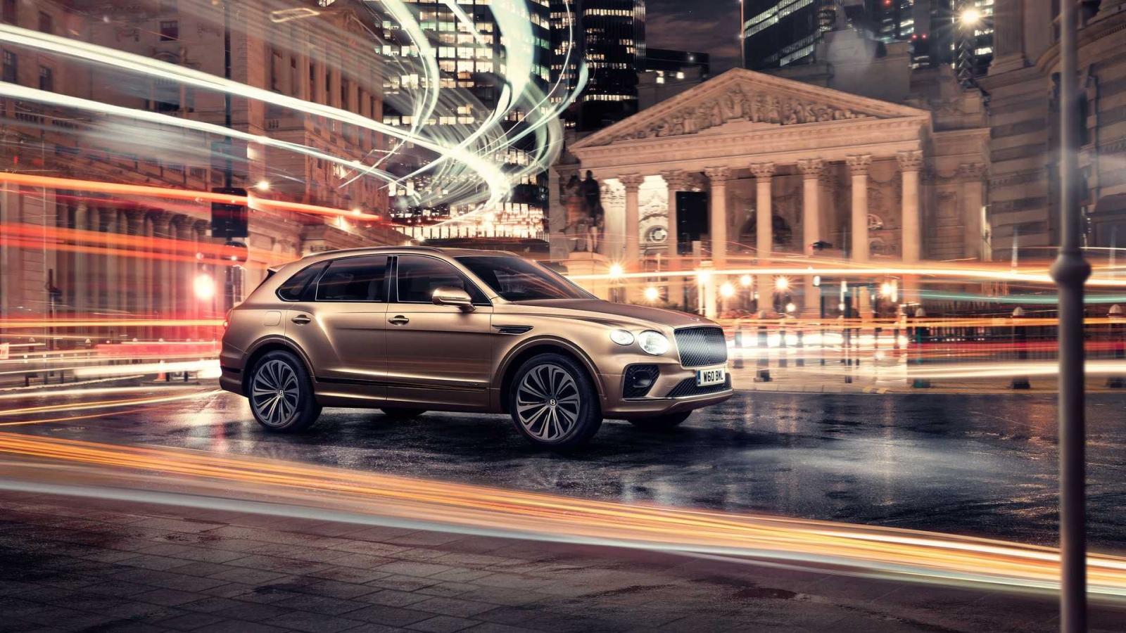 Bentley ra mắt bản nâng cấp cho SUV lai điện Bentayga Hybrid