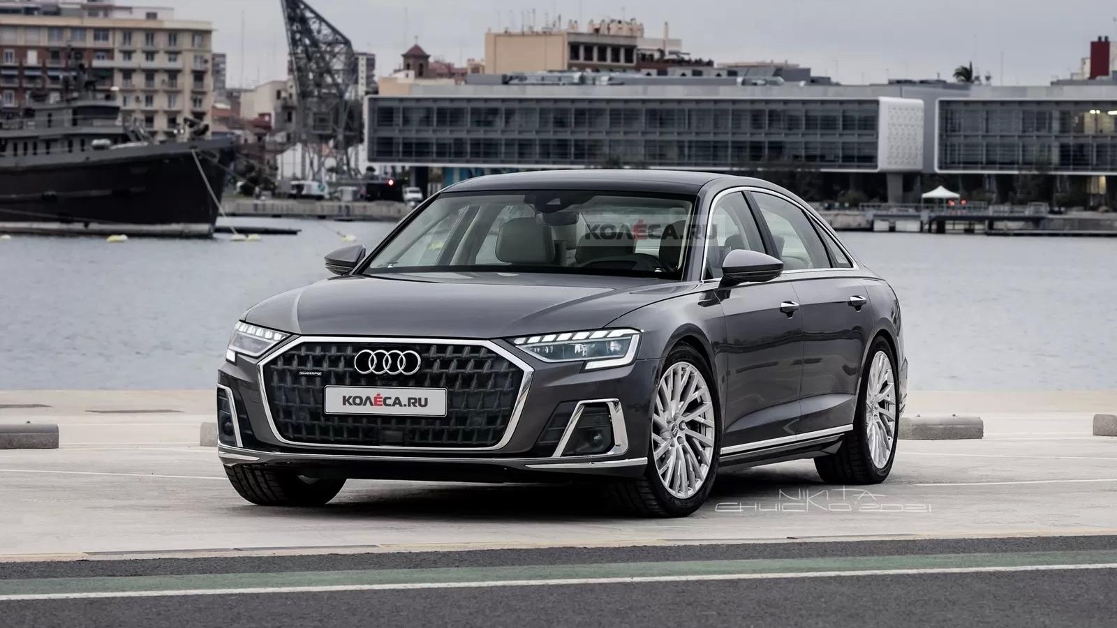 Khám phá Audi A8 2022 bản nâng cấp