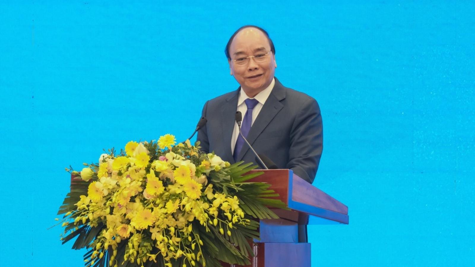 """Thủ tướng nhấn mạnh nhiệm vụ ngành Công Thương trong thúc đẩy """"cỗ xe tam mã"""""""