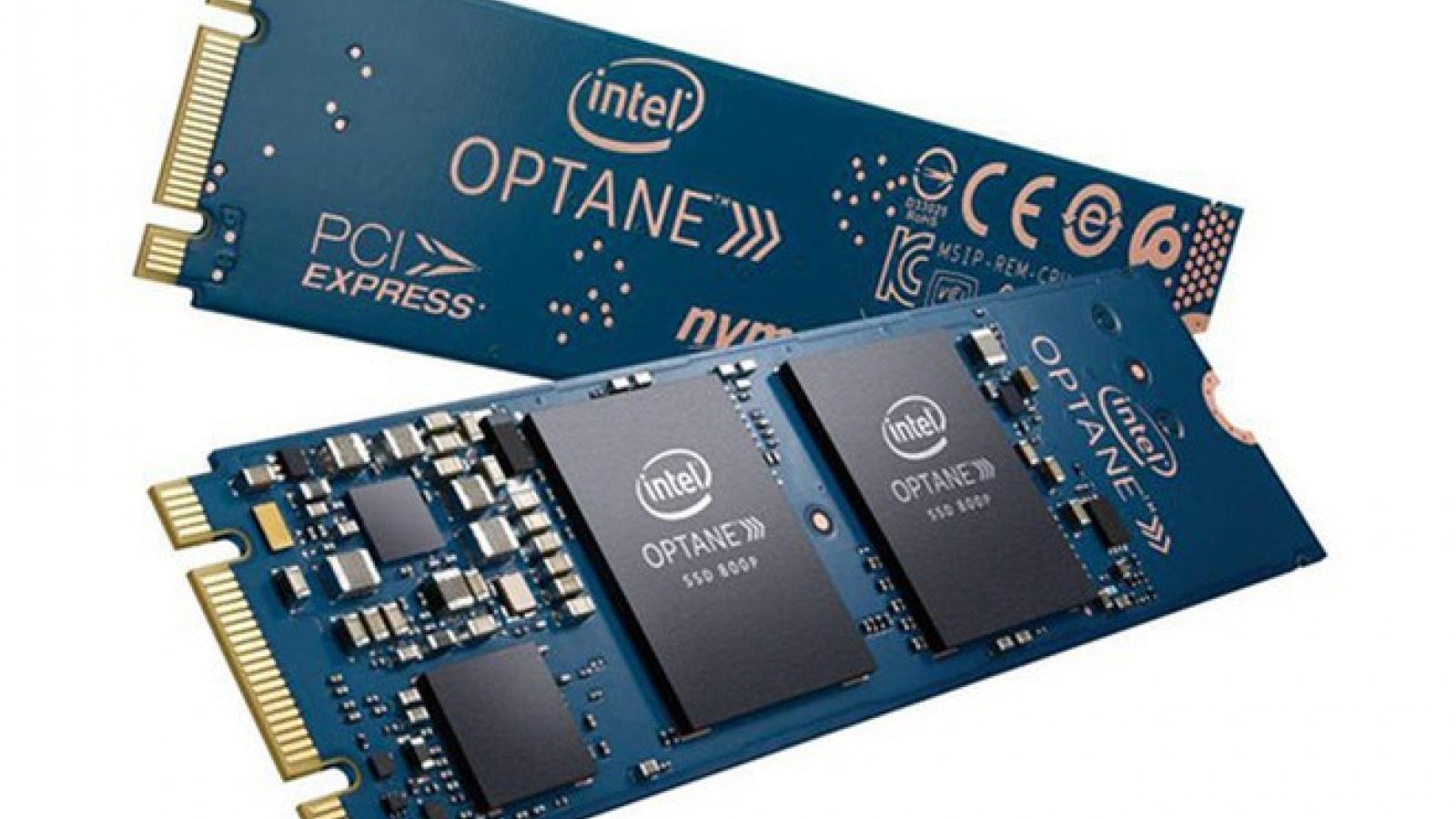 Intel ngừng sản xuất SSD Optane tốc độ cao