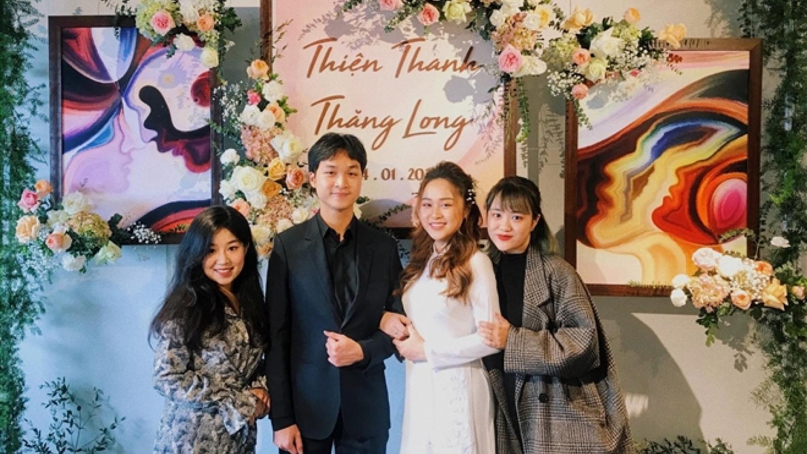Những hình ảnh hiếm hoi trong đám cưới của con gái diva Thanh Lam
