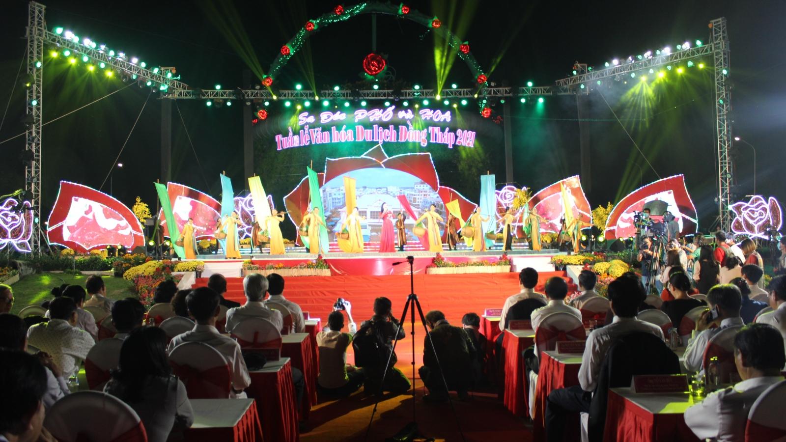 Hơn 200.000 lượt khách đến với Tuần lễ văn hóa Du lịch tỉnh Đồng Tháp 2021