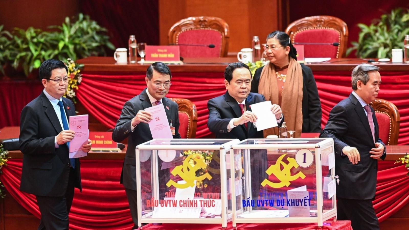 Người dân đặt niềm tin vào Ban chấp hànhTrung ương Đảng khóa XIII