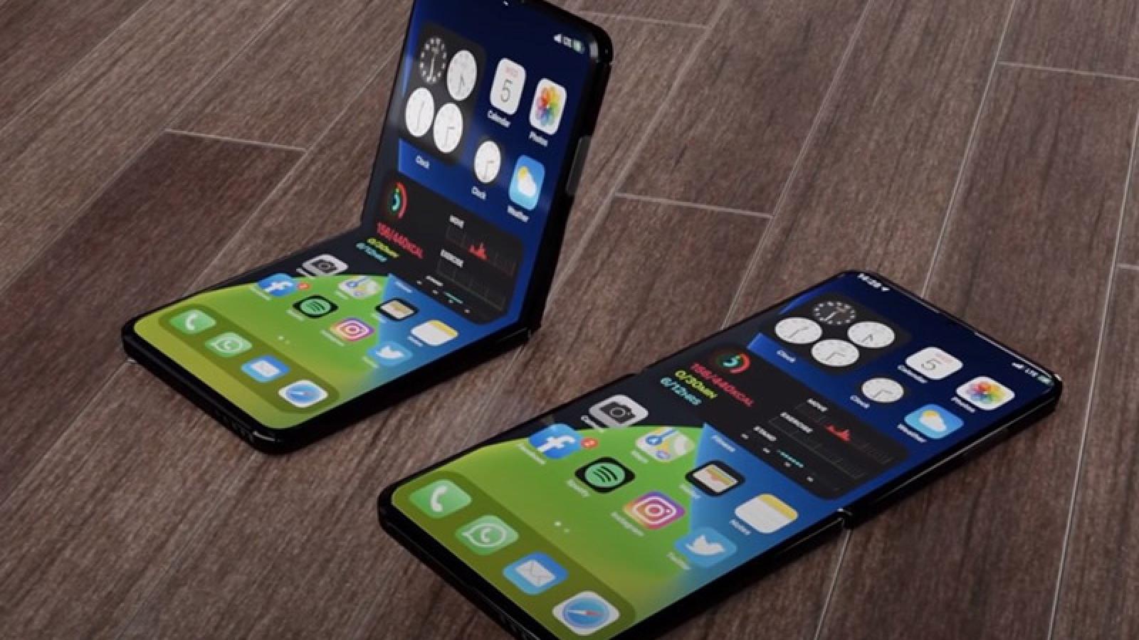 Hai thiết kế iPhone gập lại đã vượt qua các bài kiểm tra độ bền