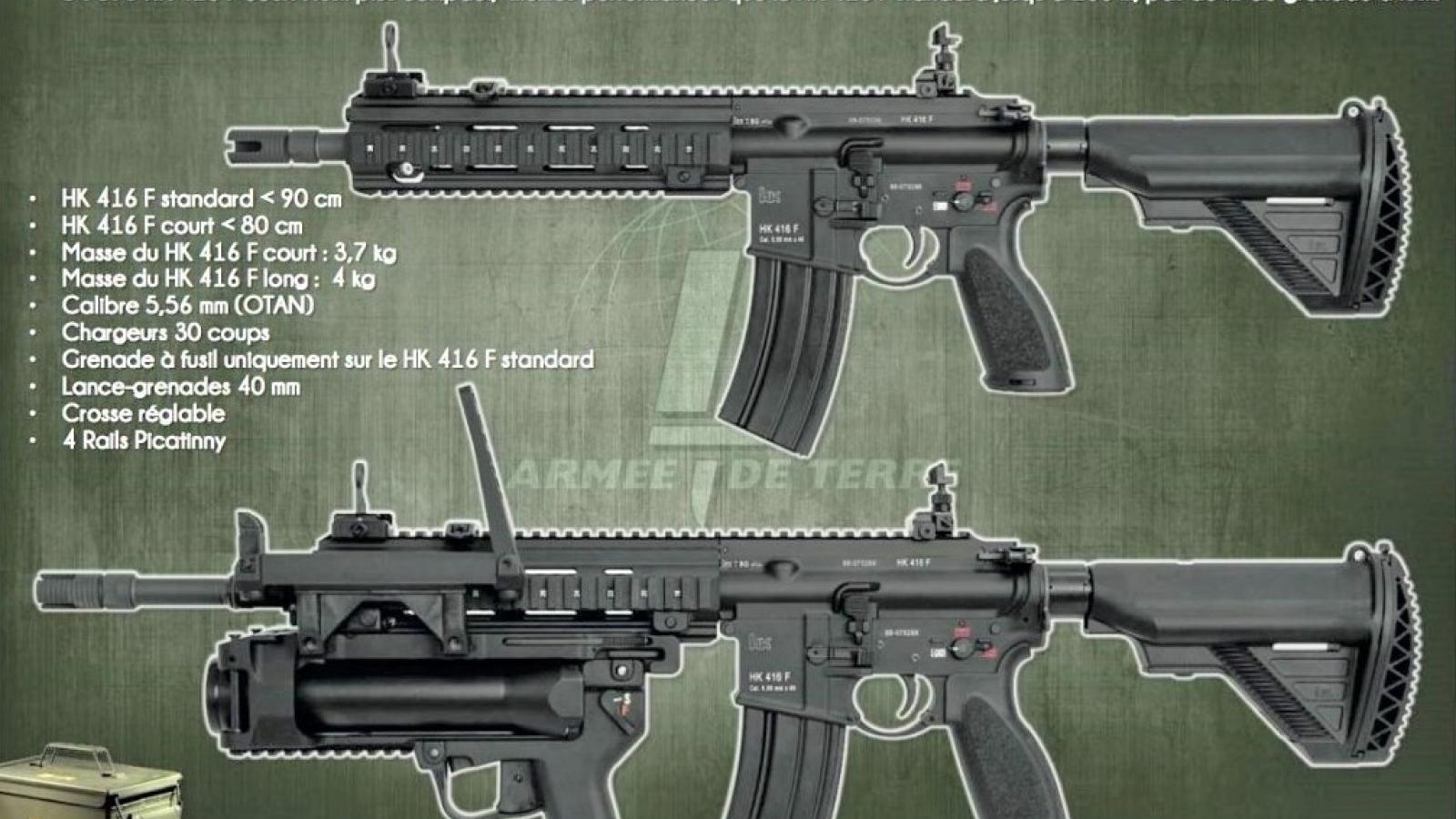 Đâu là lý do việc Pháp thay súng nội FAMAS bằng vũ khí Đức