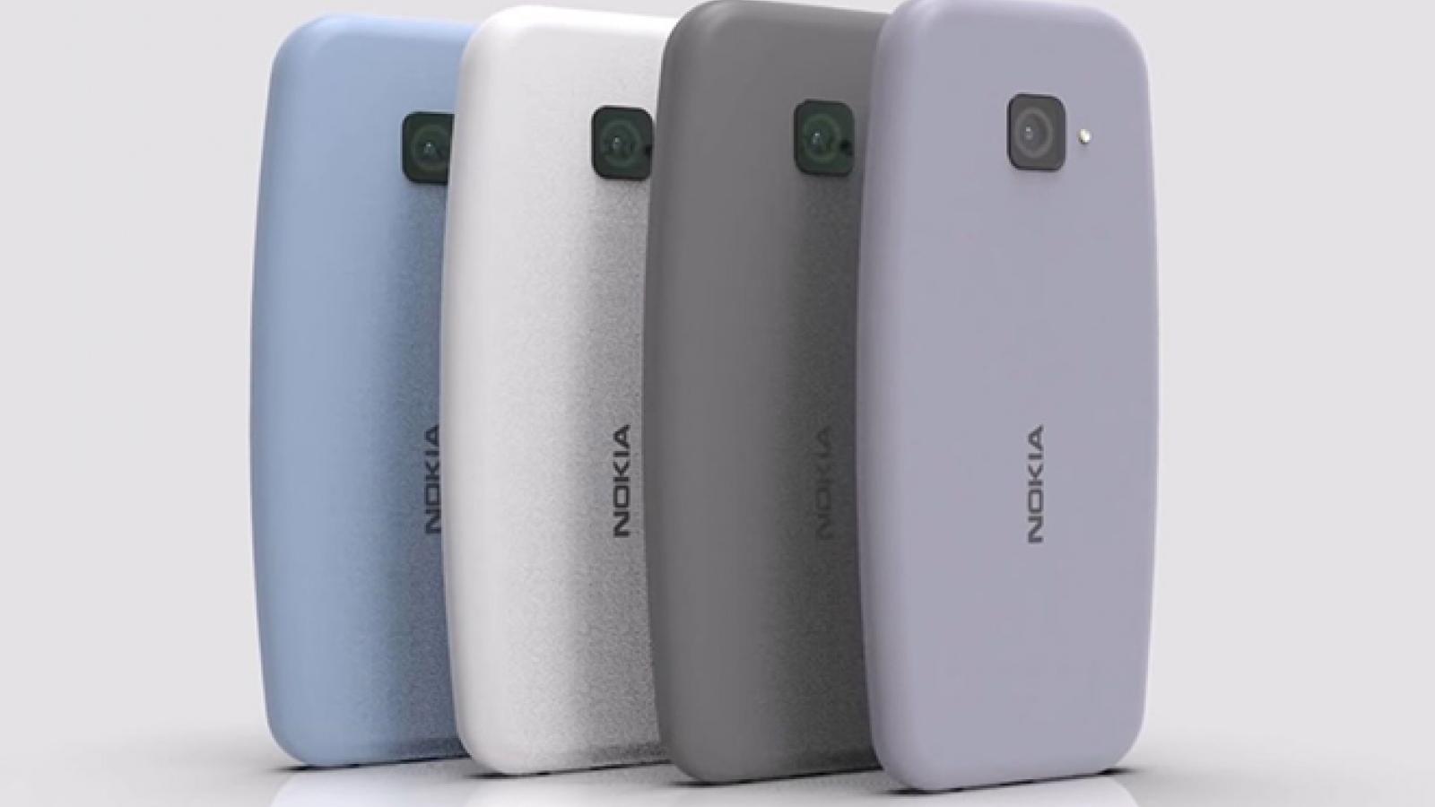 Nokia 3310 2021 có màn hình lớn hơn, máy quét vân tay