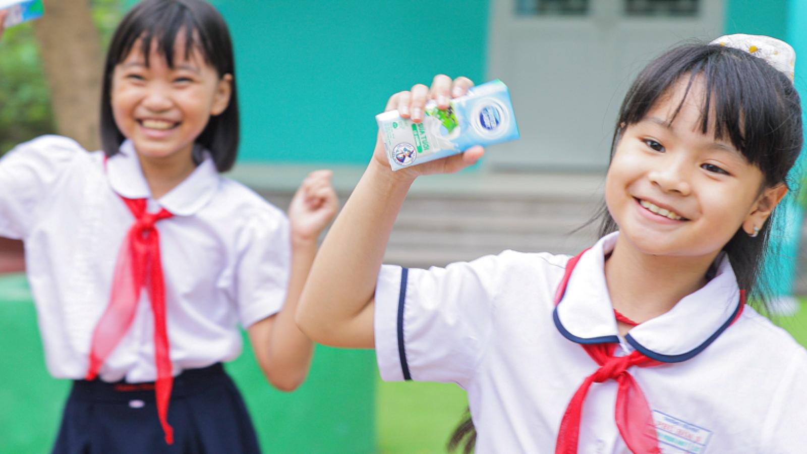 Vũ điệu uống sữa – nền tảng cho con một cơ thể sẵn sàng, trí óc vững vàng